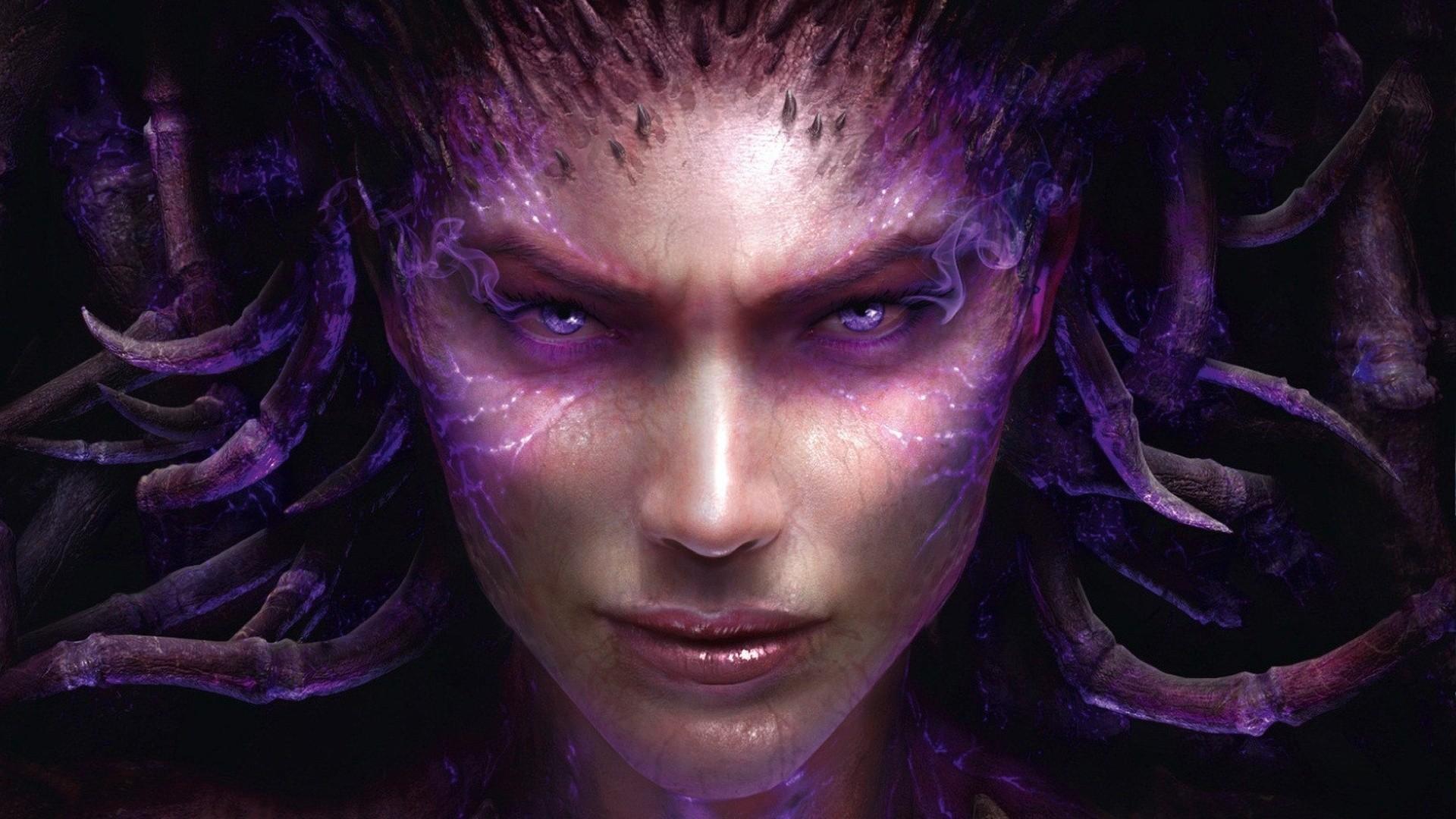Heart of Swarm, Sarah Kerrigan Queen Of Blades, Starcraft, Star .