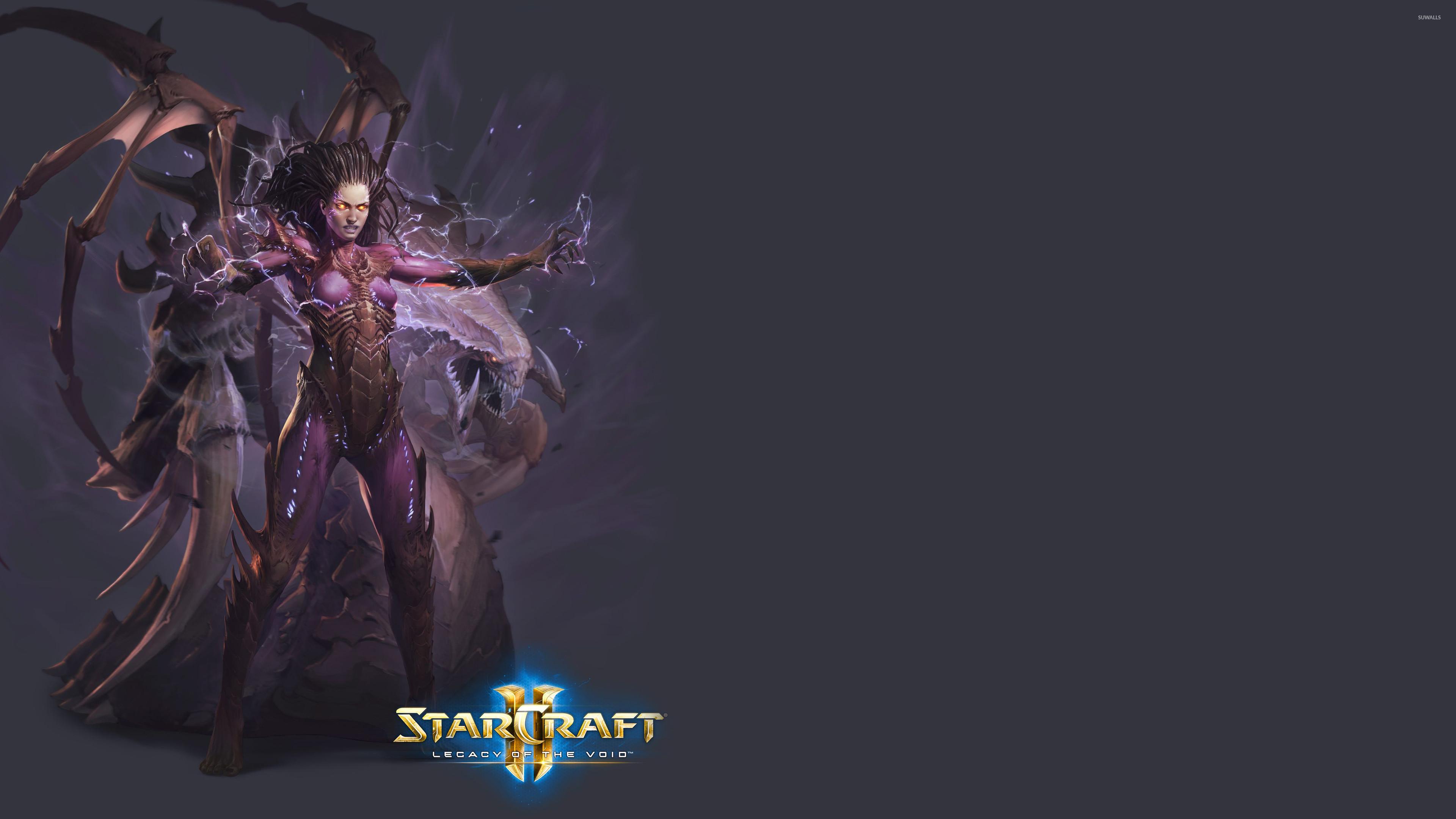 Sarah Kerrigan in StarCraft II: Legacy of the Void wallpaper