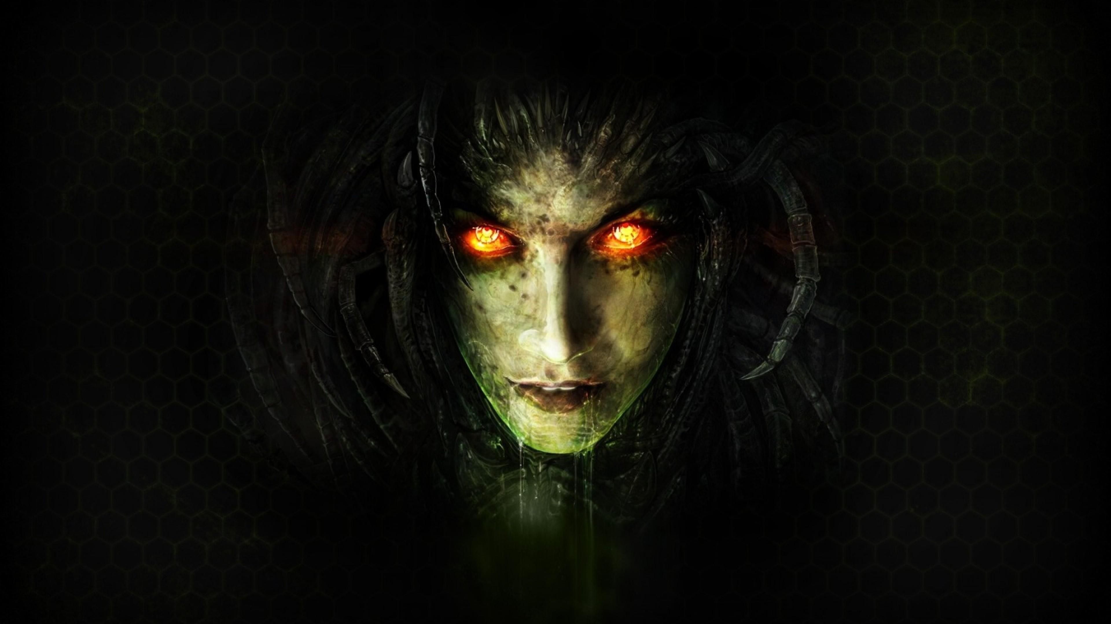 Wallpaper starcraft ii, sarah kerrigan, queen of blades, zerg,  starcraft 2