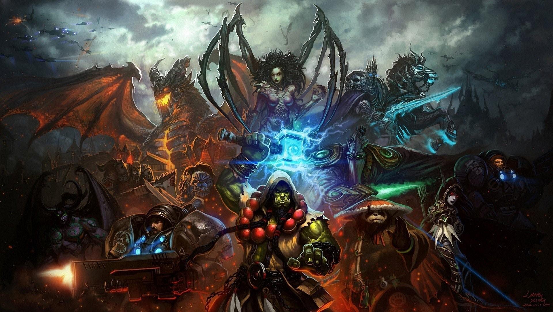 World Of Warcraft StarCraft Sarah Kerrigan Elves …