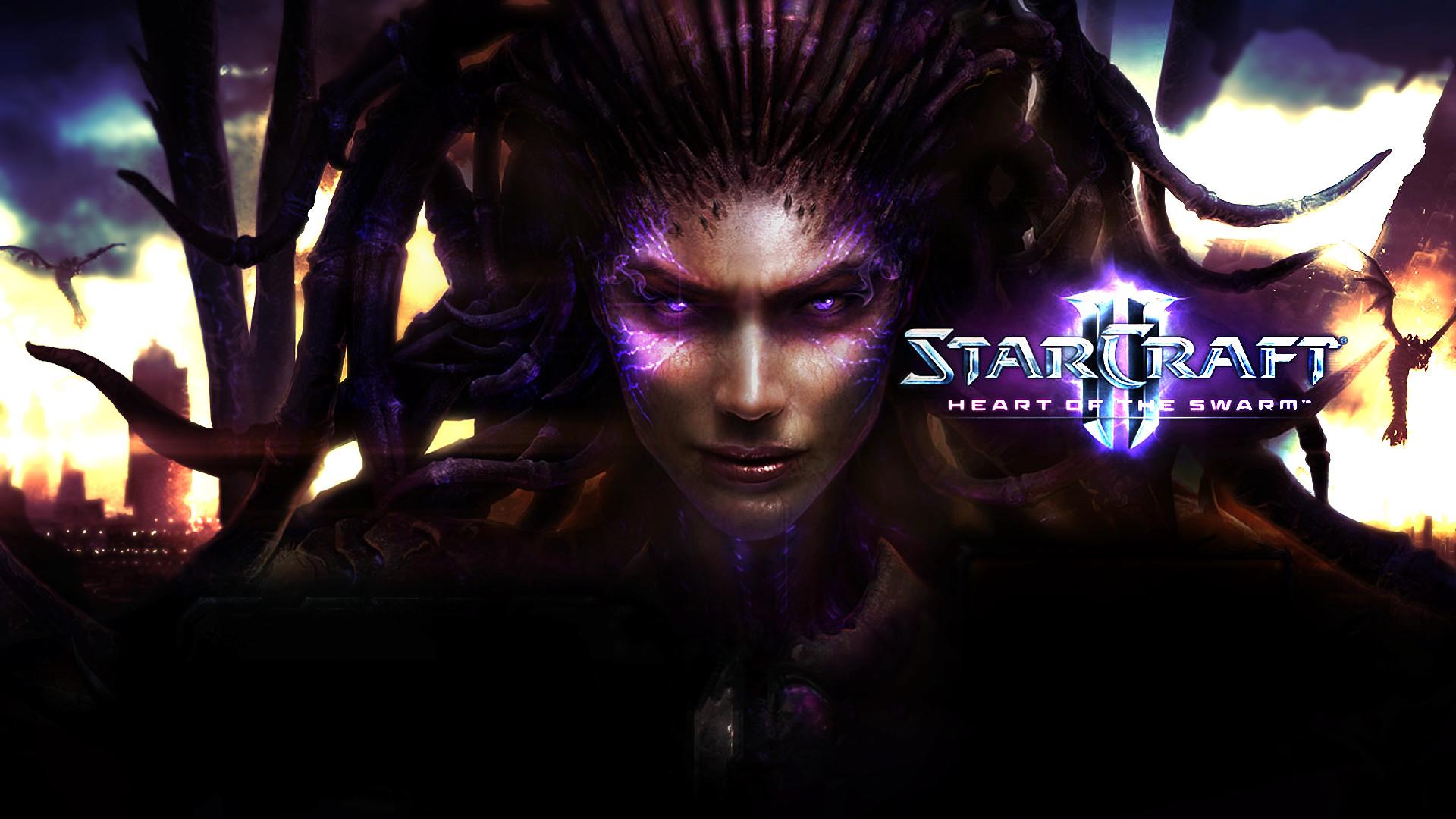 Video Game – StarCraft II: Heart of the Swarm Sarah Kerrigan Wallpaper