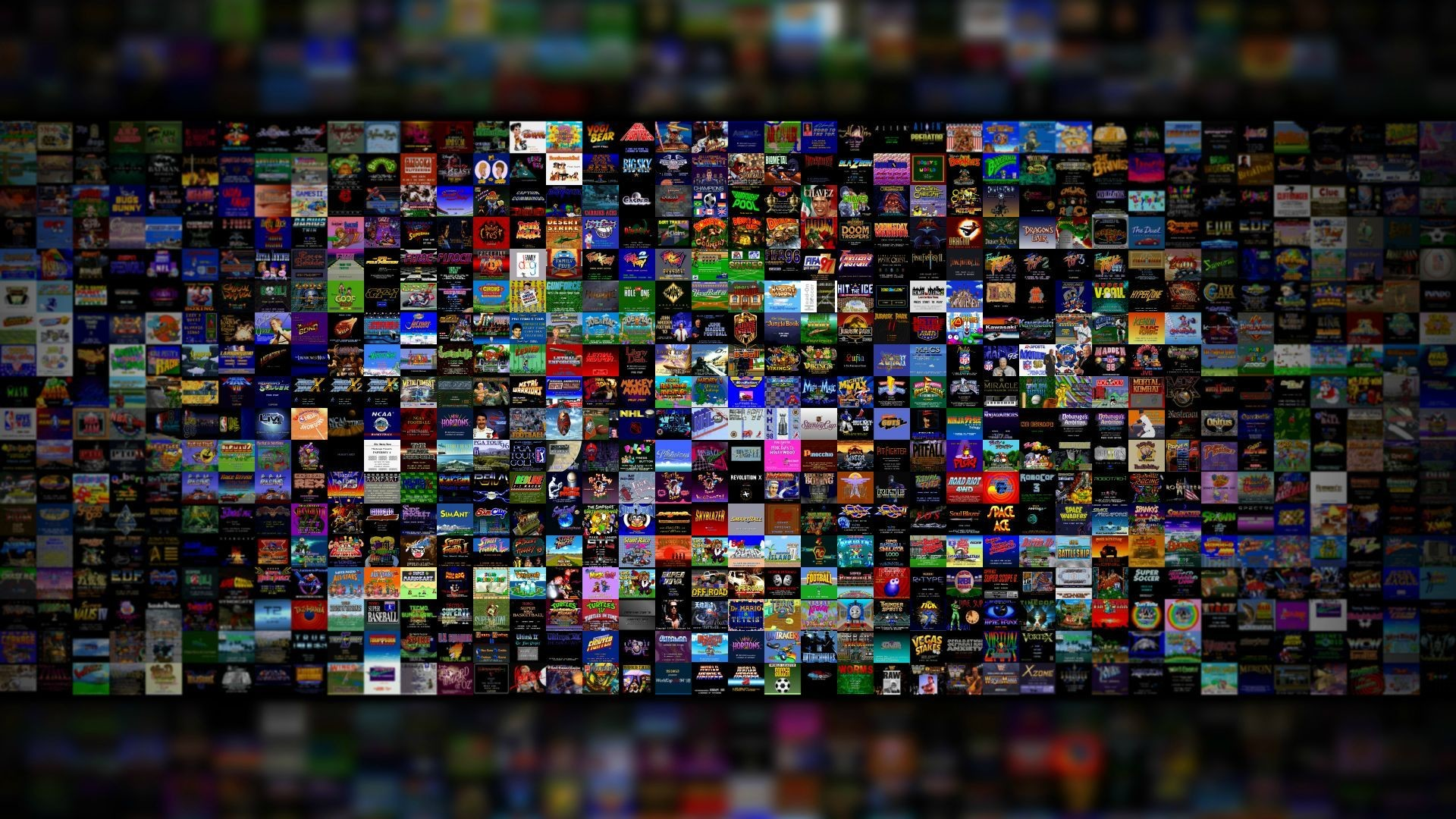 700+ SNES game title screen wallpaper for you guys. Enjoy. : snes