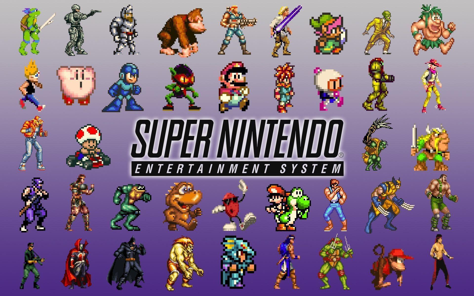 Nintendo Kirby Mario Yoshi Battletoads Super Nintendo Fresh New Hd ..