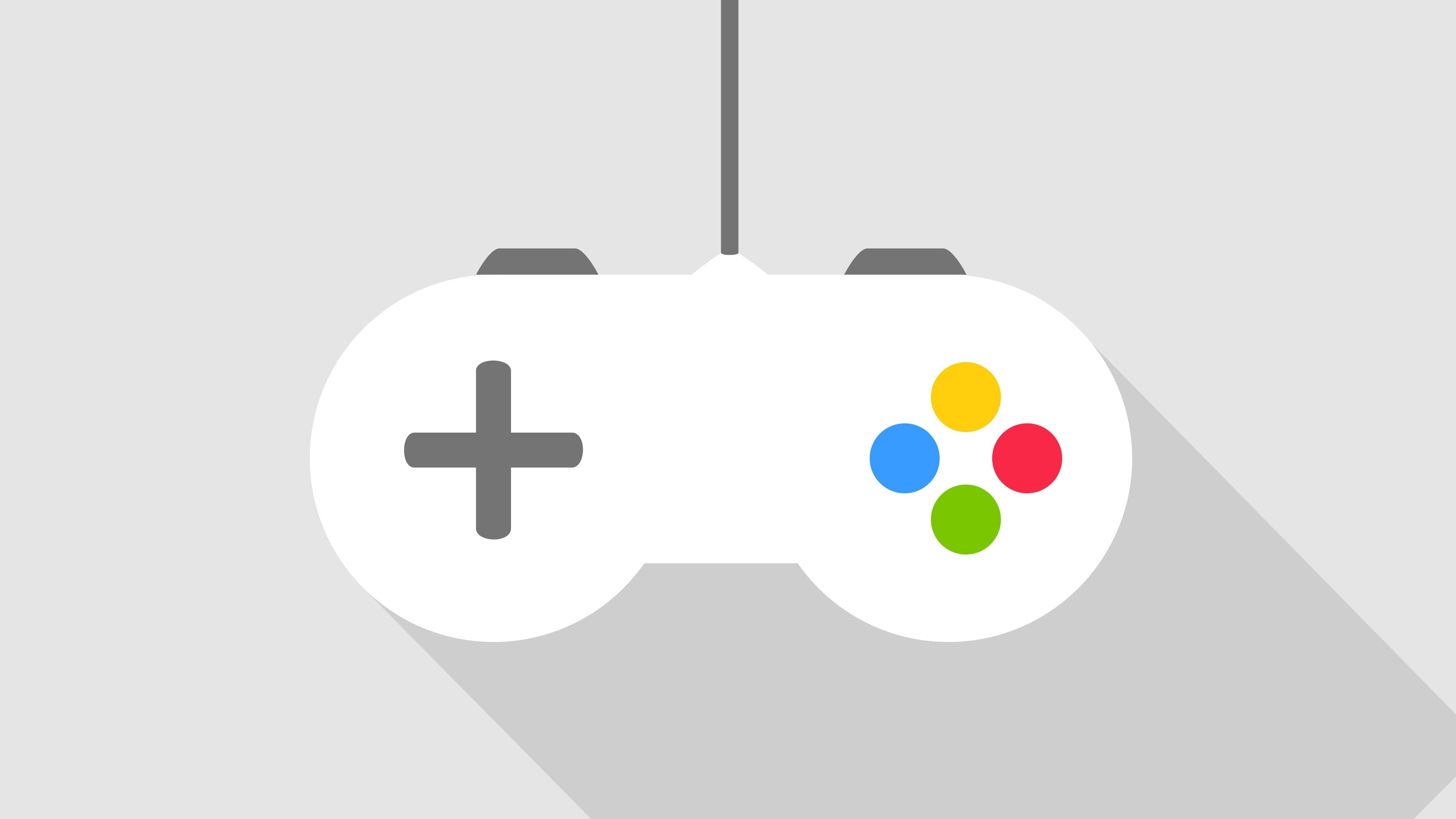 SNES, Video Games, Gamers, Minimalism, Gray Wallpapers HD / Desktop and  Mobile Backgrounds