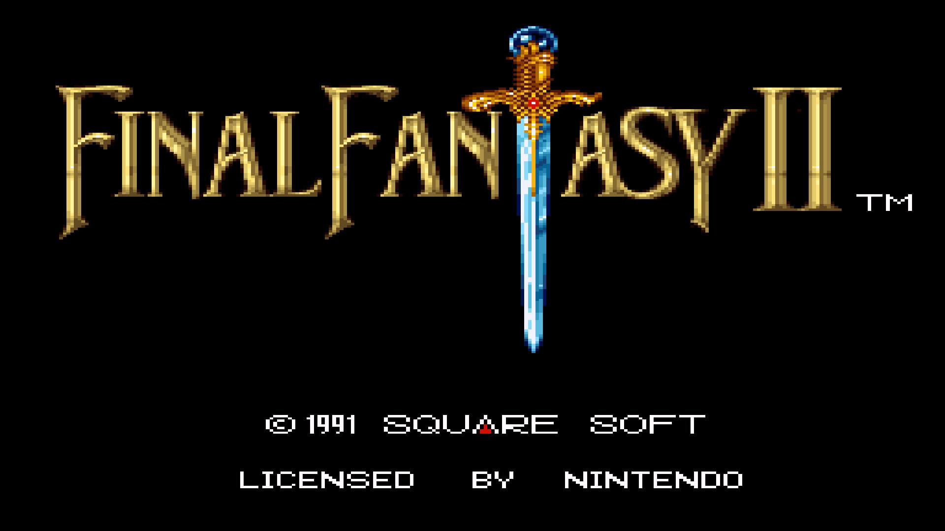 Final Fantasy 2 Snes