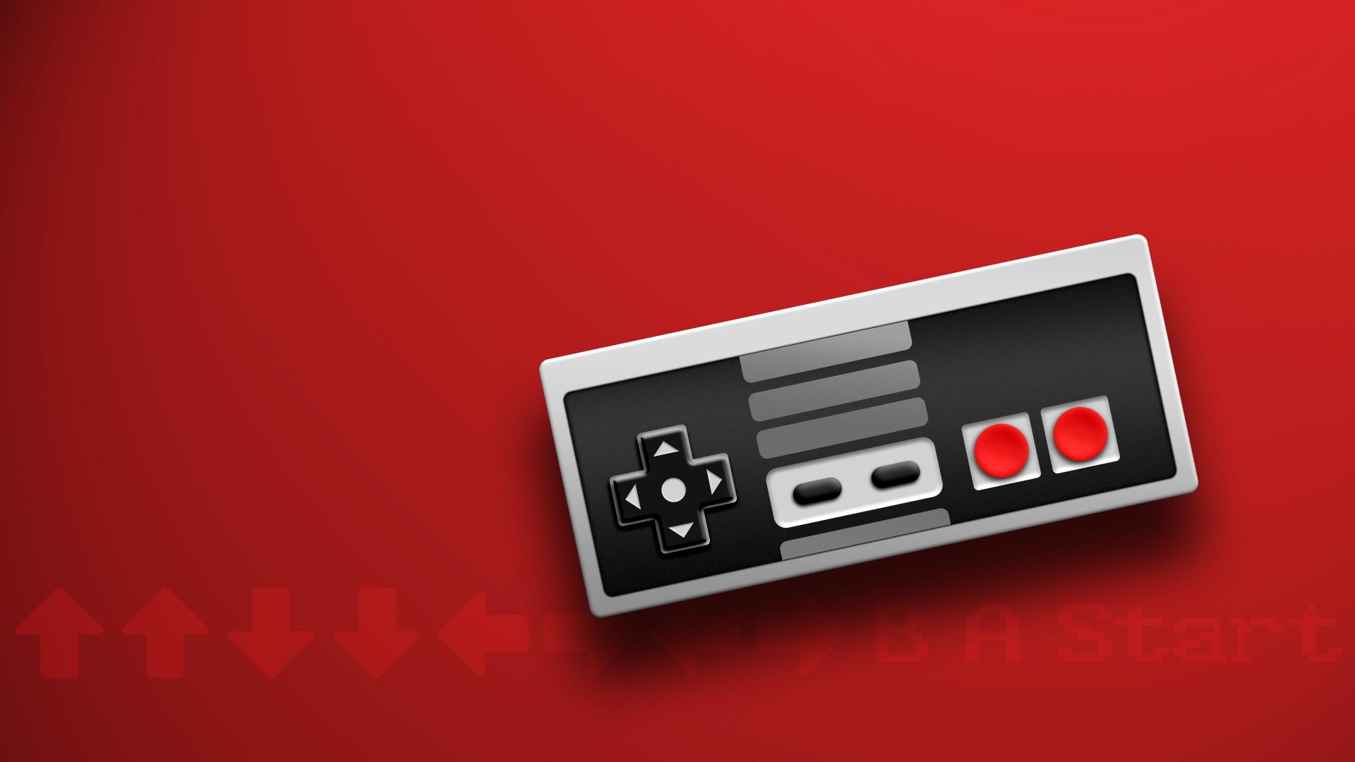 Nintendo Controller Wallpaper · Super Nintendo Controller