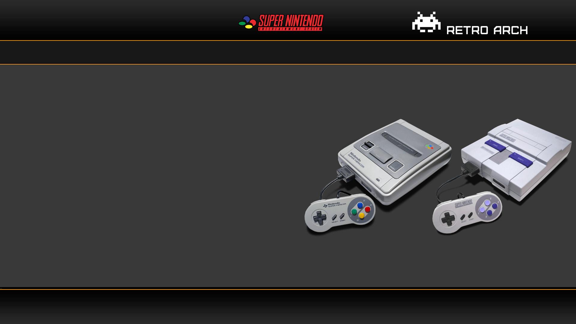 RetroArch Main Menu Wallpapers (Skins)
