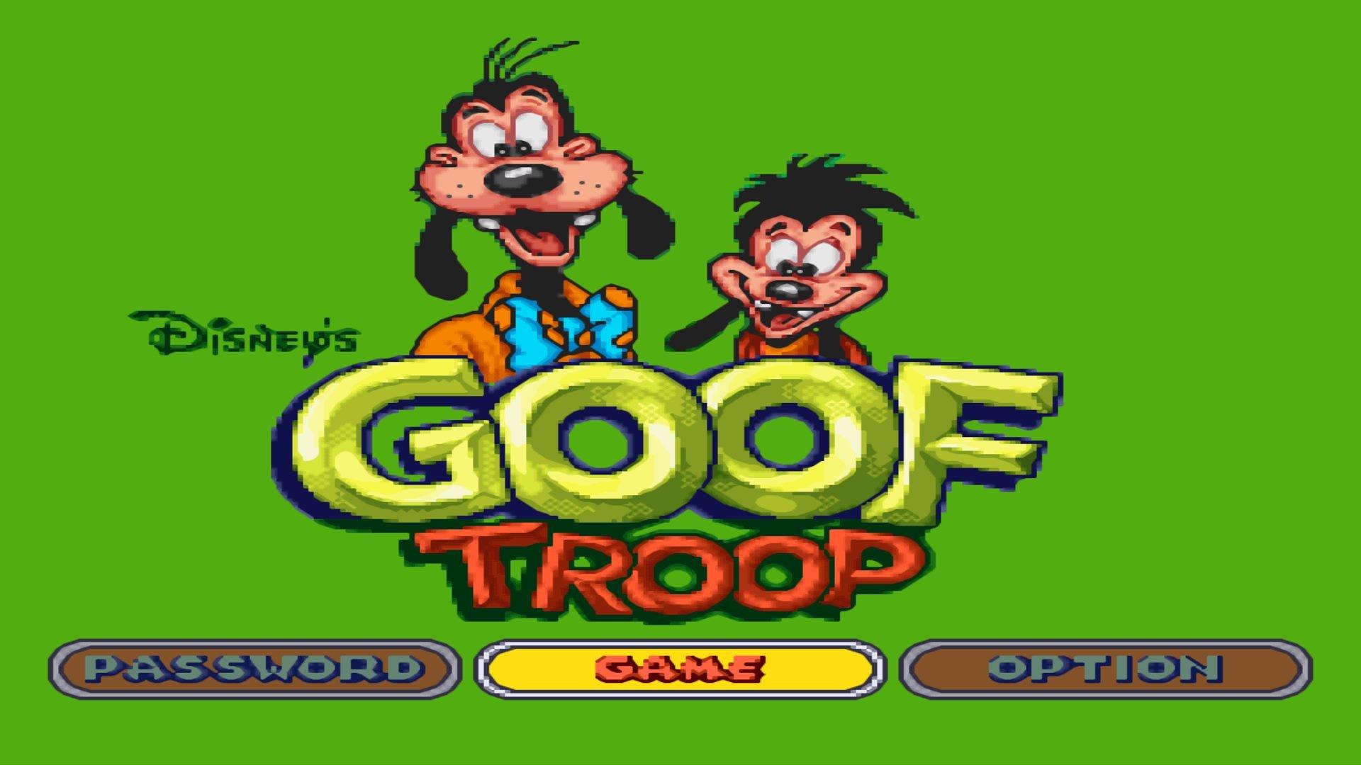 … Goof Troop SNES Wallpaper …