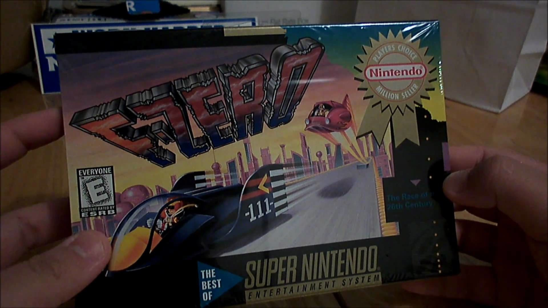 Super Nintendo SNES Game Unboxing – Factory Sealed F-Zero (1994) [HD] –  YouTube