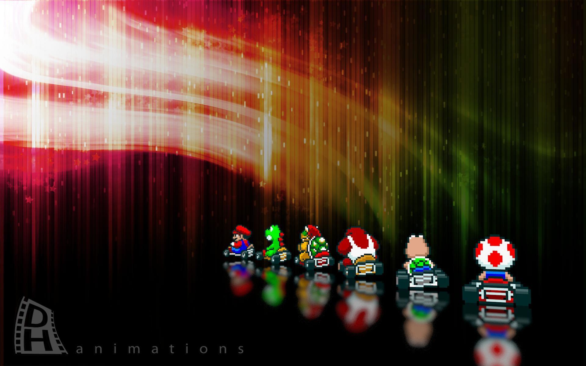 Super Mario Kart – Colourful