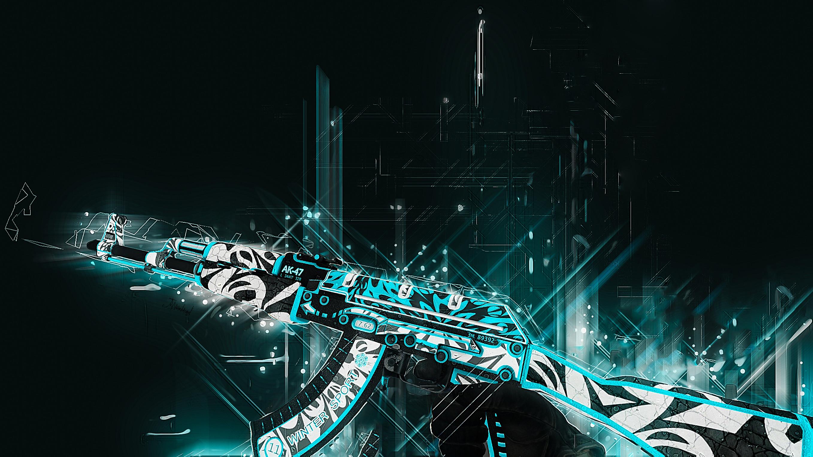 Video Game – Counter-Strike: Global Offensive AK-47 Bakgrund