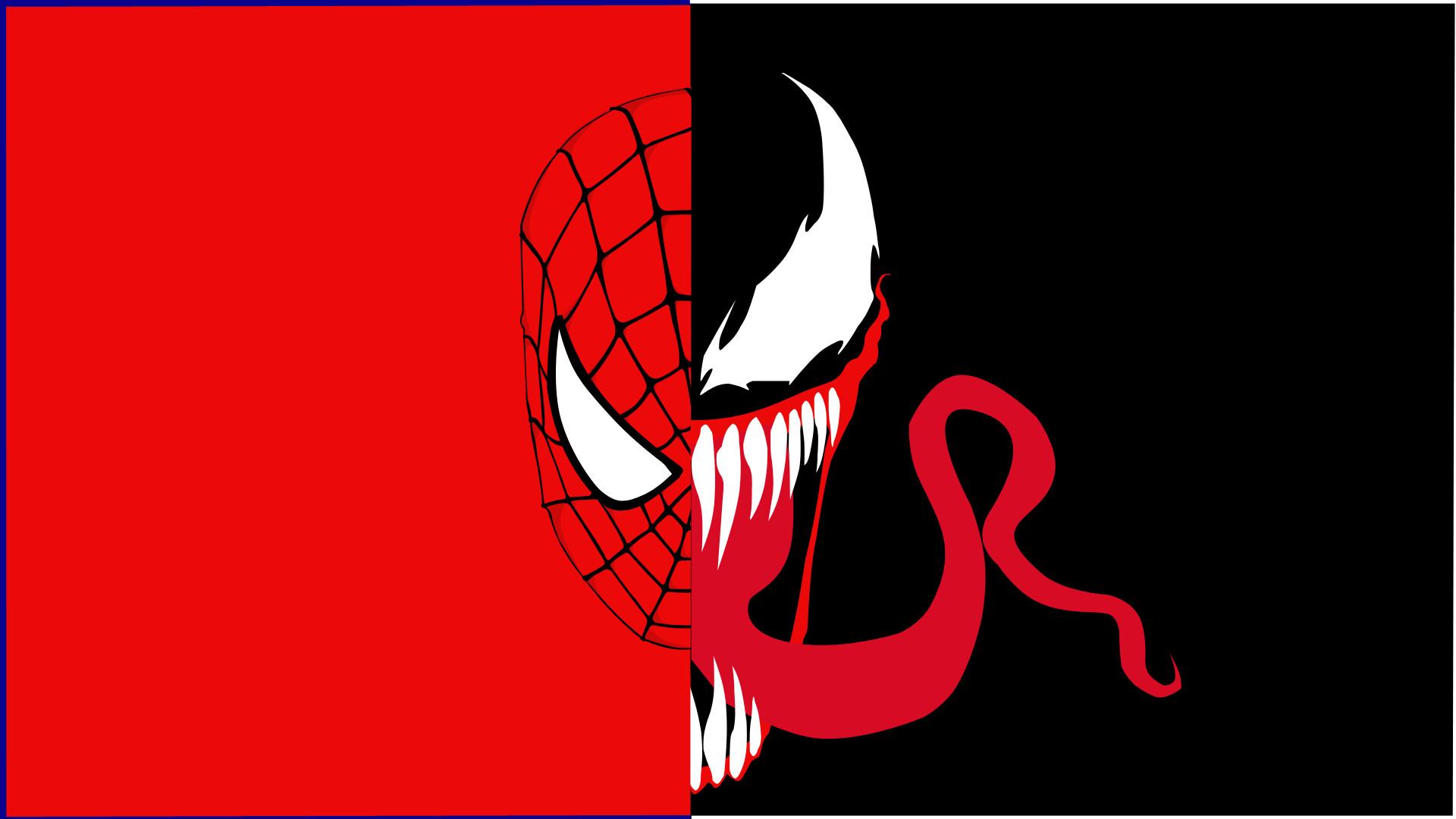 venom spider man logo wallpaper -#main