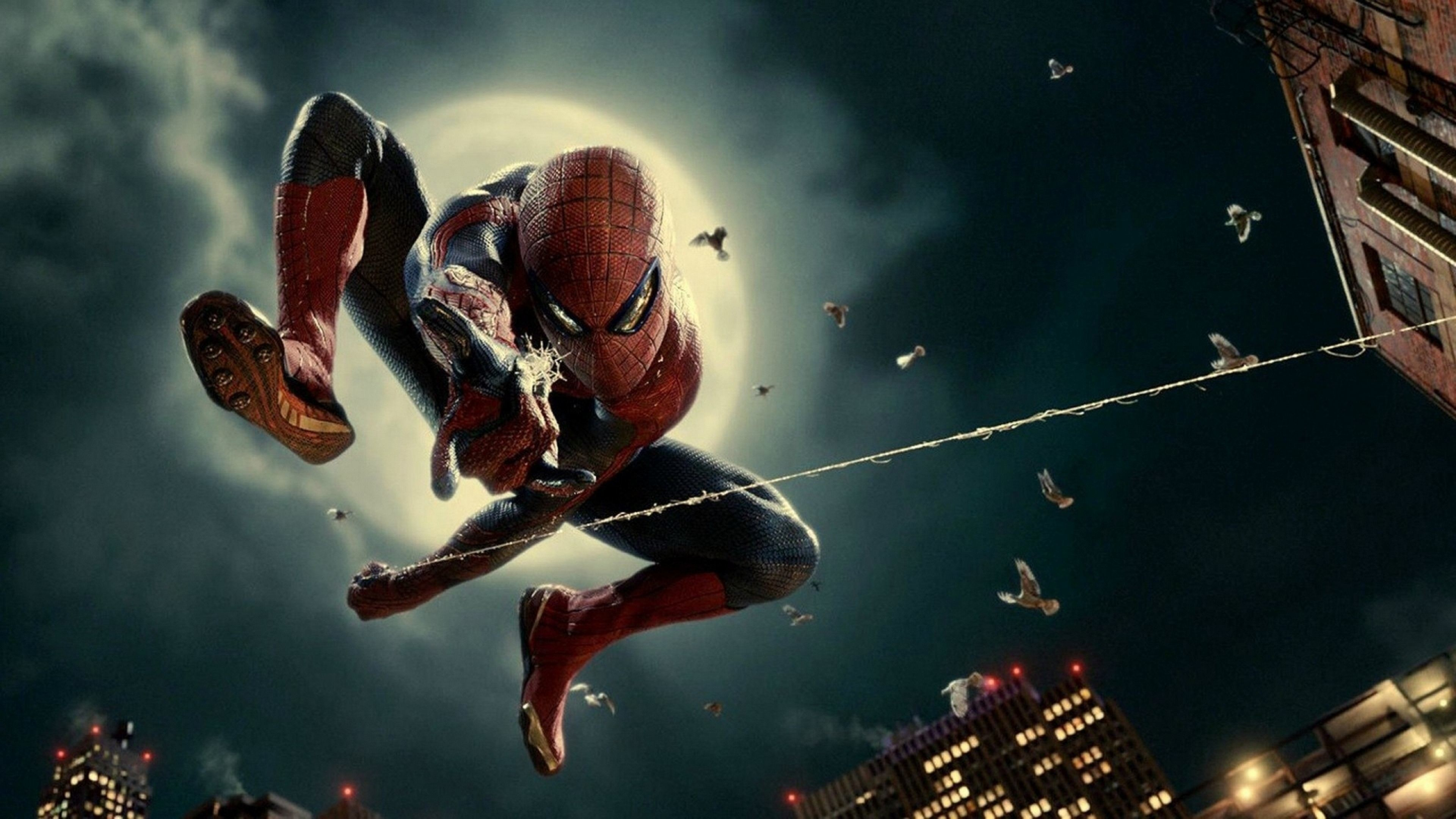 Spiderman Logo Background Wallpaper HD For Desktop