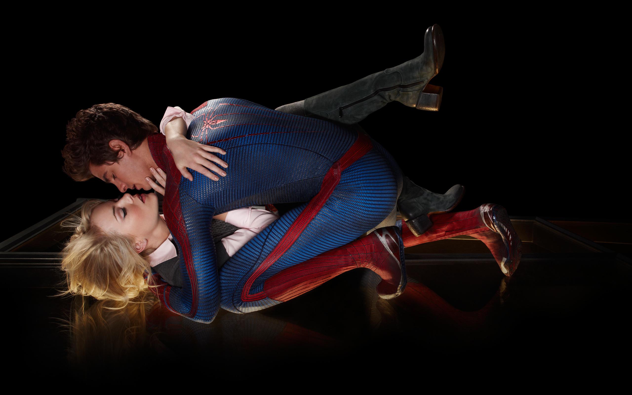 Amazing Spider Man Love Kiss wallpaper HD. Free desktop background .