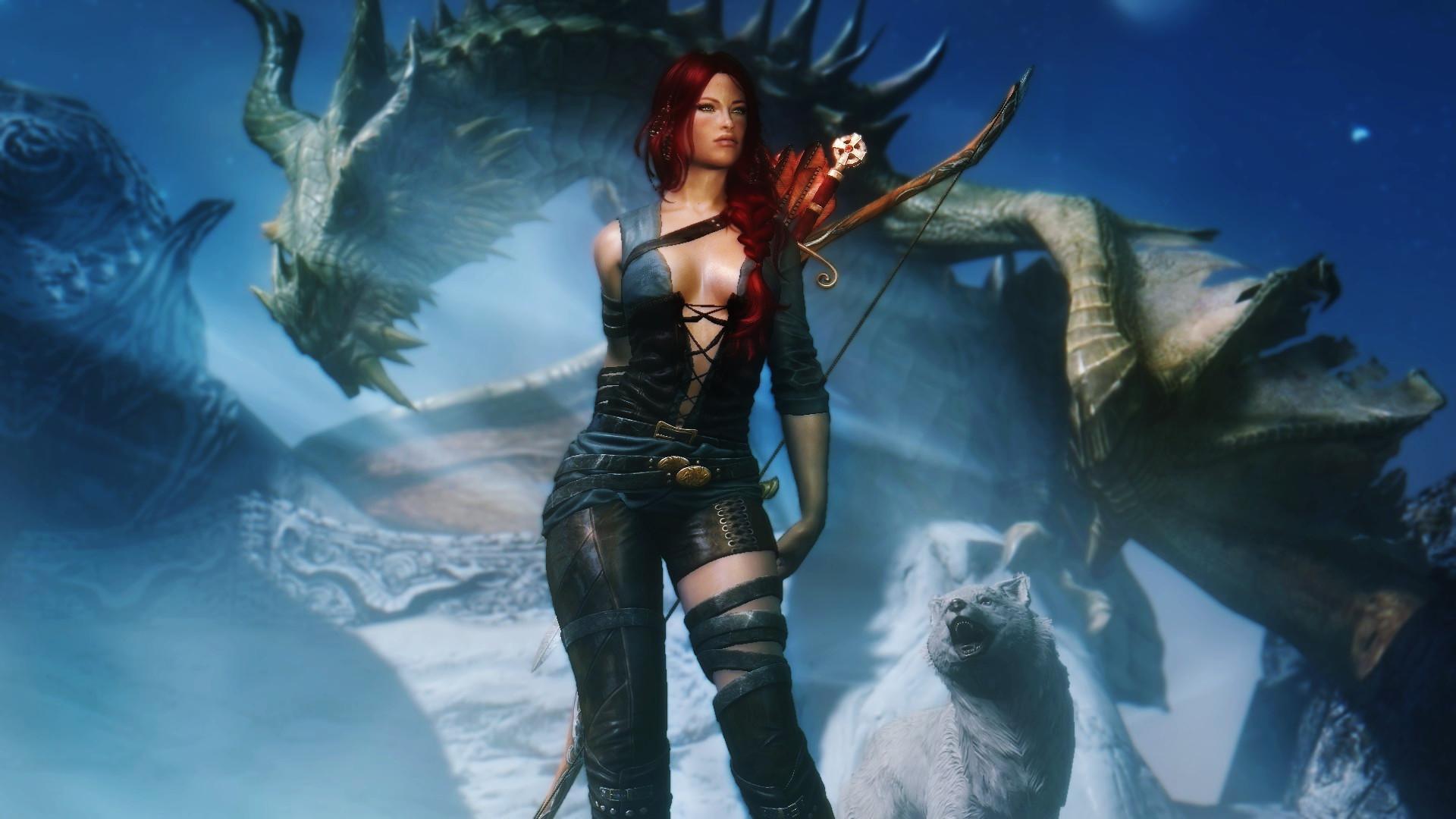The Elder Scrolls V: Skyrim, Dragon, Wolf. Until Dawn …