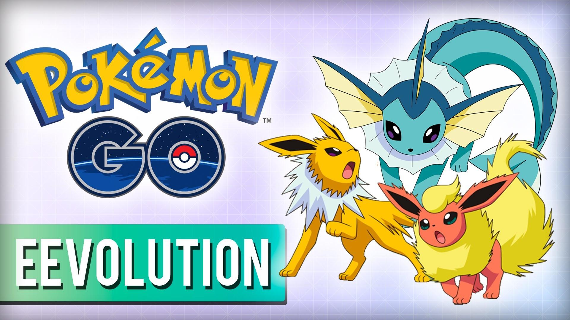 POKÉMON GO: How To CHOOSE Eevee Evolutions in Pokémon GO! (Vaporeon,  Flareon, or Jolteon!) – YouTube
