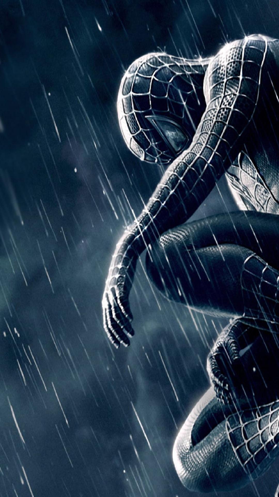 Spiderman 3 Rain iPhone 6 Plus HD Wallpaper …