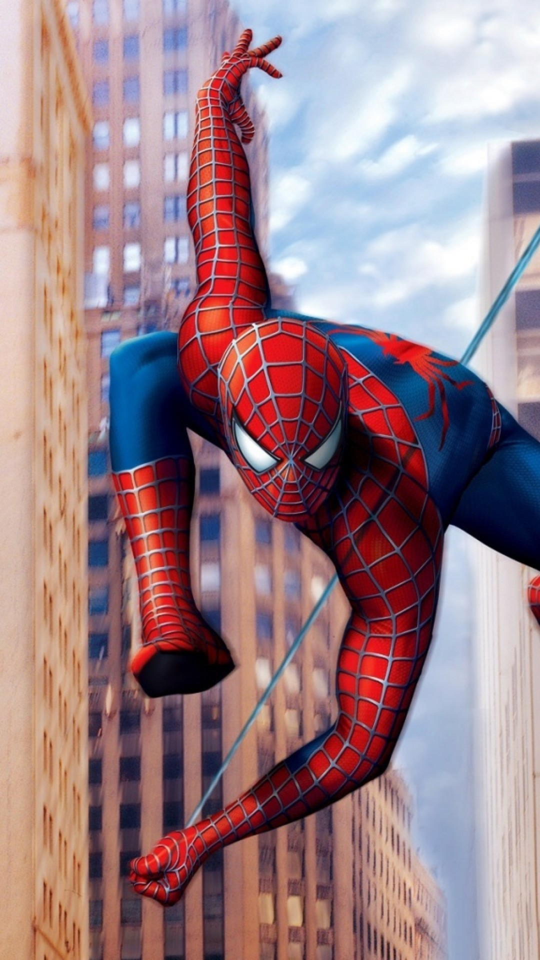 Spiderman Superhero Iphone Wallpaper Hd