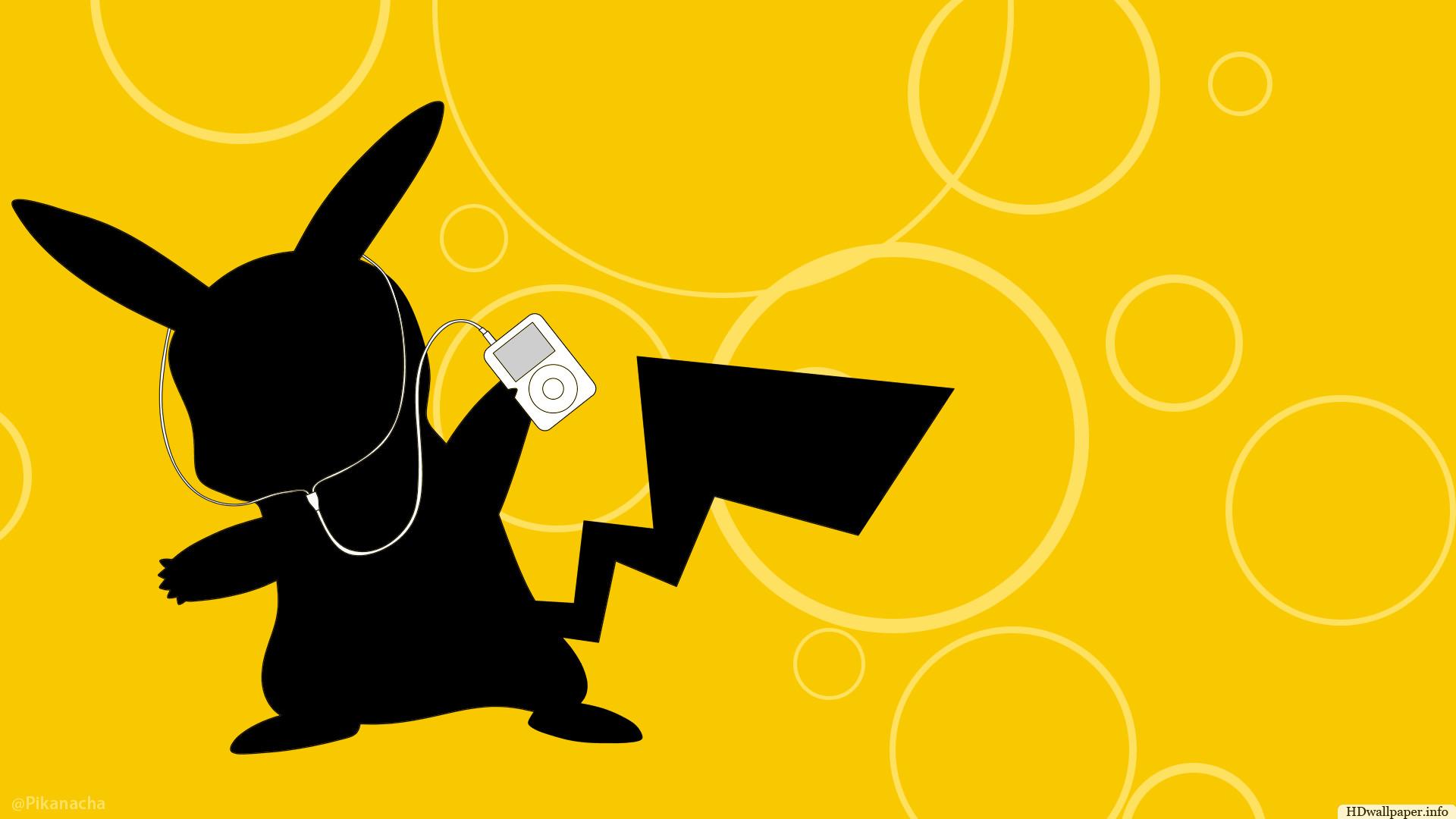 pikachu ipod wallpaper id: 3372 / credit