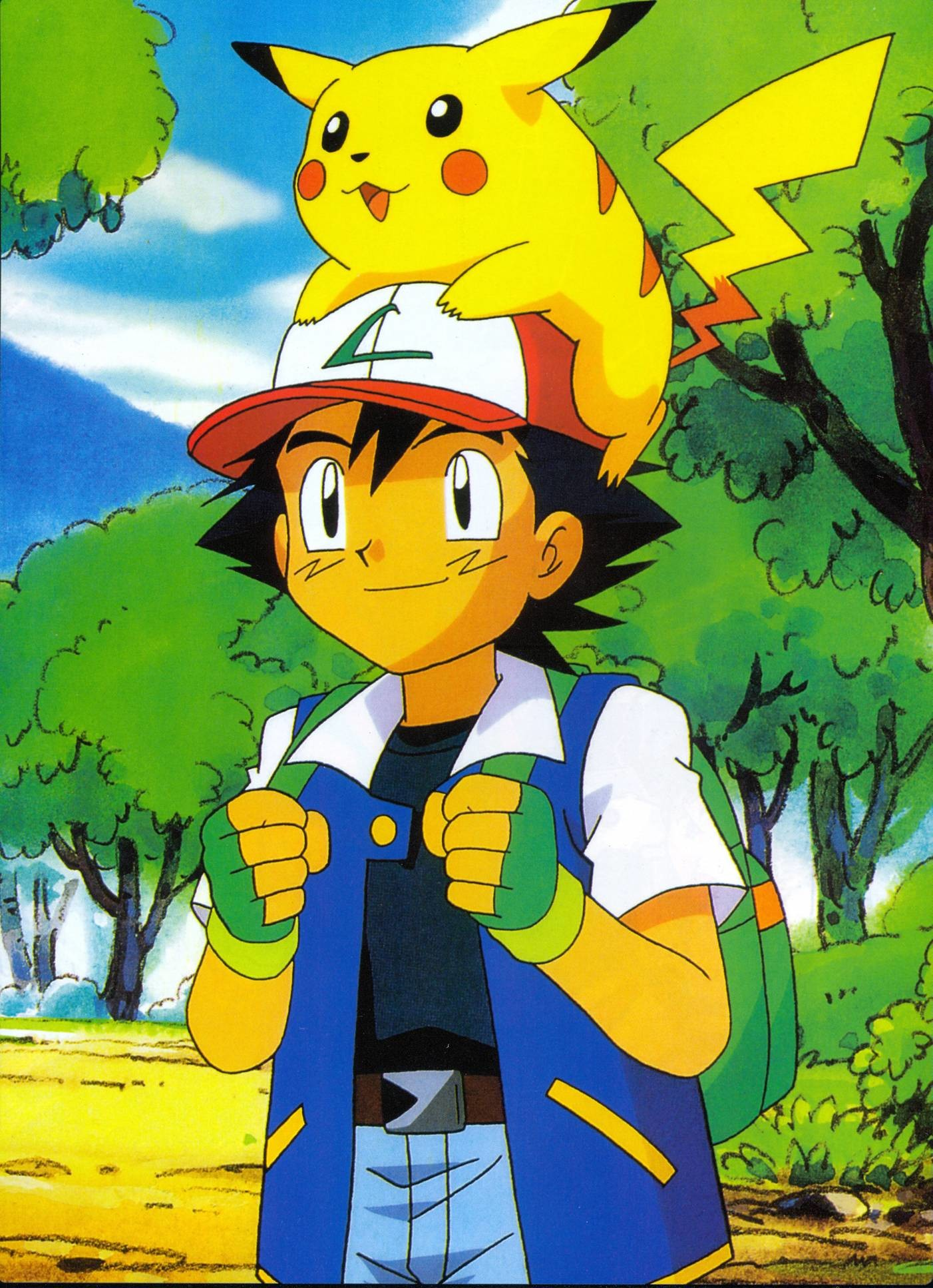 Wallpapers For > Pikachu And Ash Wallpaper Hd