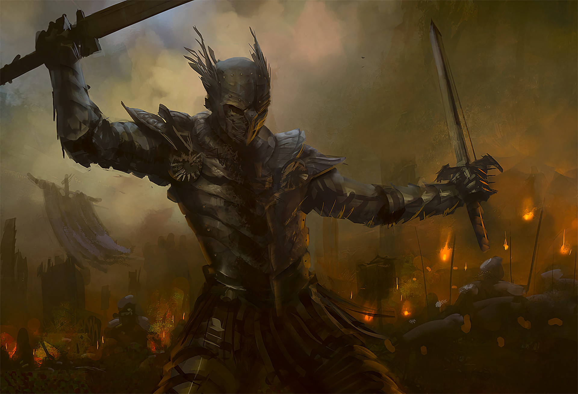 HD Wallpaper | Background ID:11362. Fantasy Warrior