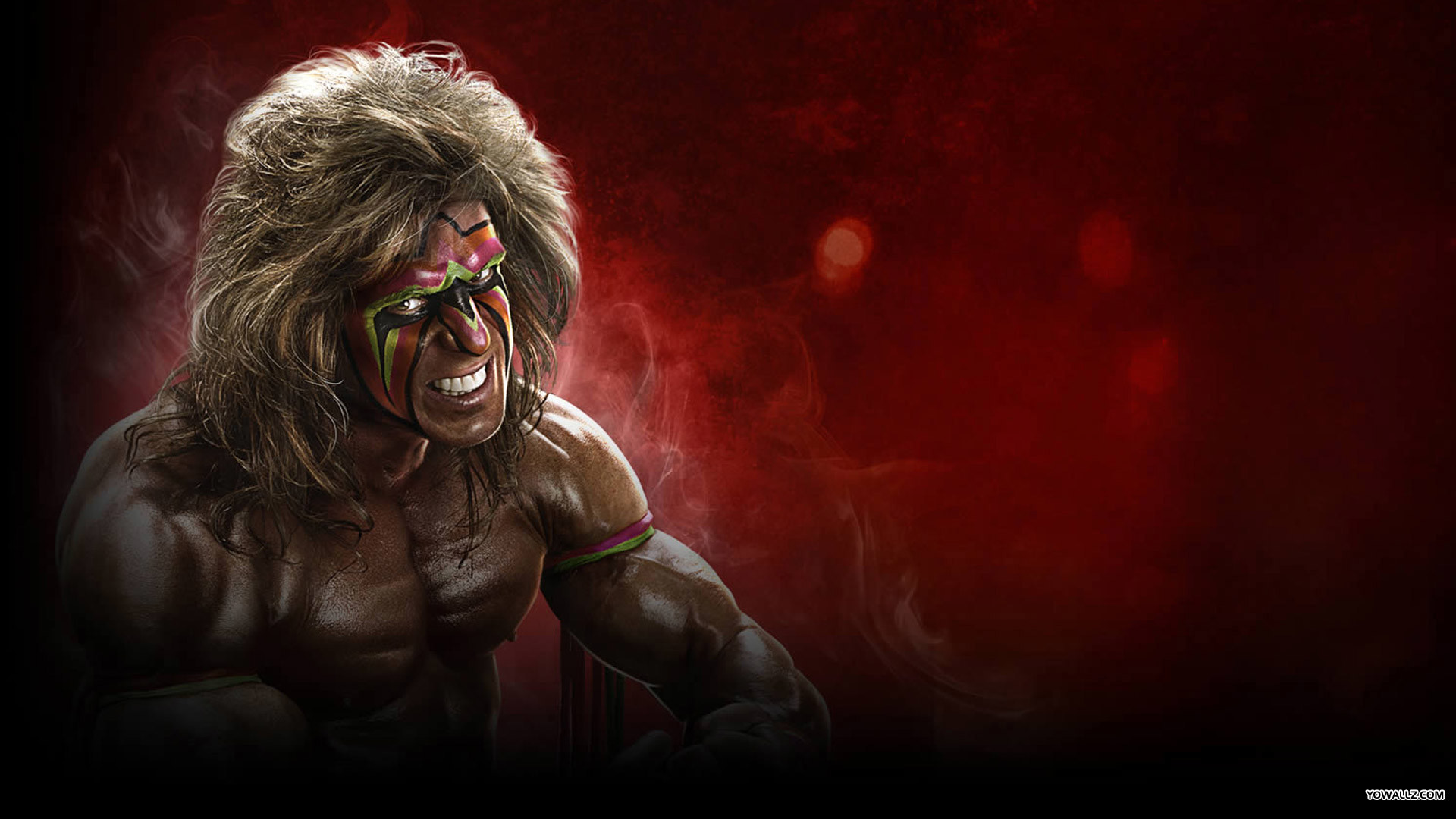 The Ultimate Warrior WWE 2K14 Exclusive HD Wallpapers