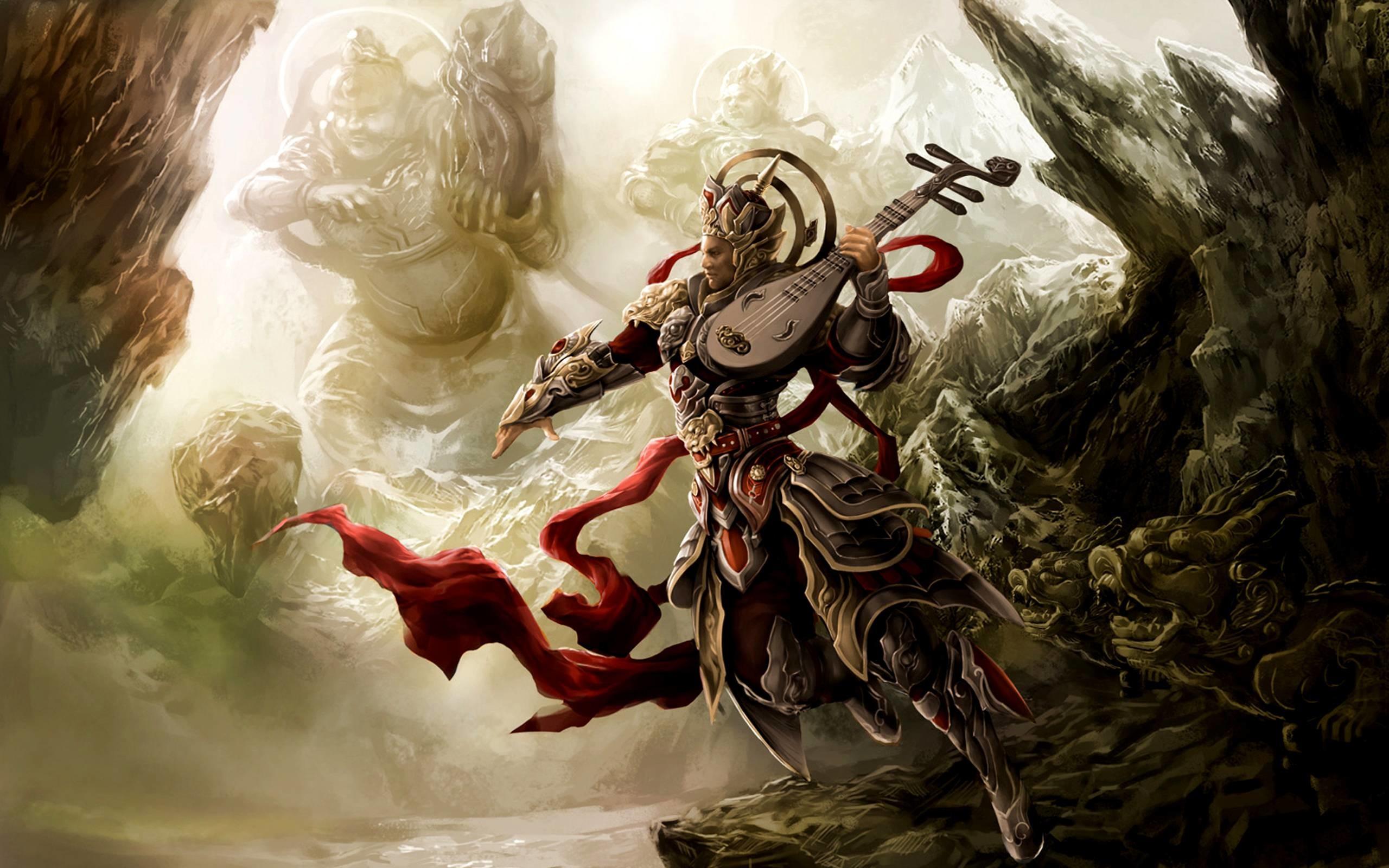 HD Fantasy Warrior Wallpaper | Download Free – 104691
