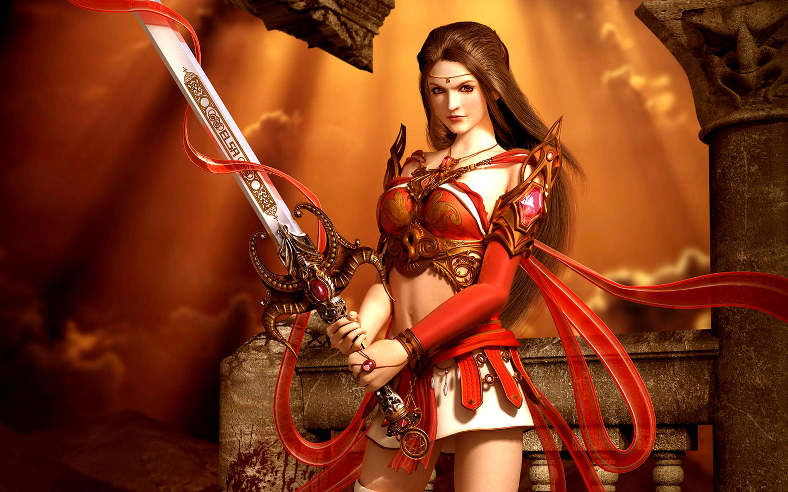 HD Wallpaper | Background ID:113296. Fantasy Women Warrior