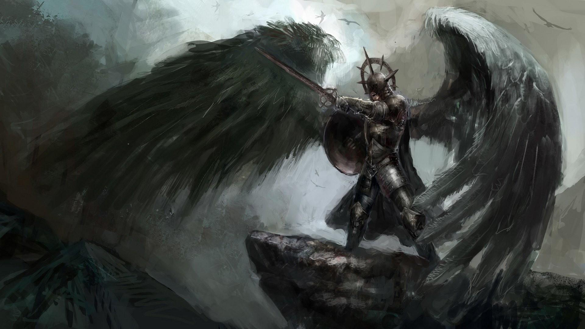 HD Wallpaper | Background ID:545446. Fantasy Angel Warrior