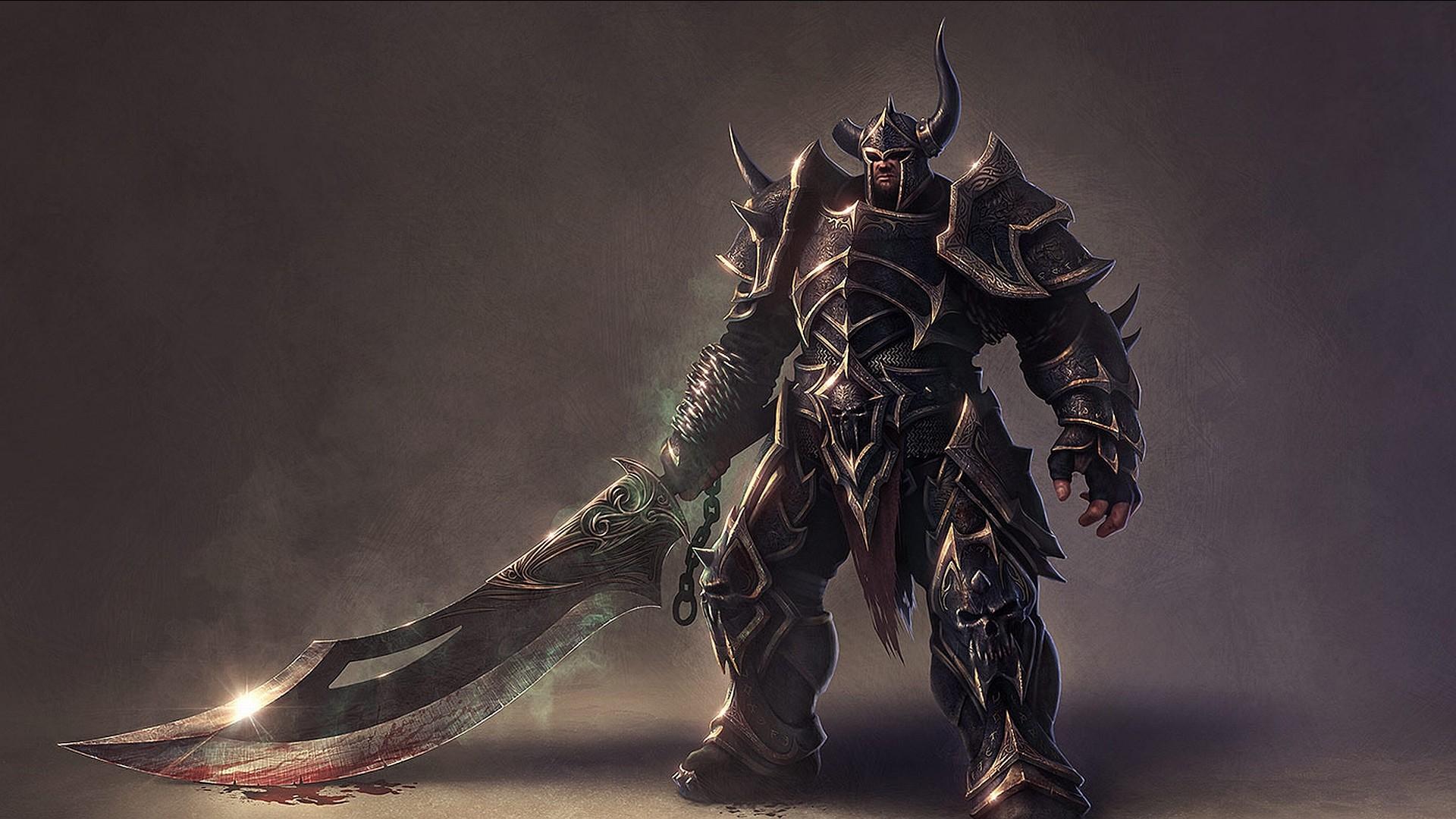 Download Fantasy Warrior Background Picture Wallpaper #61301