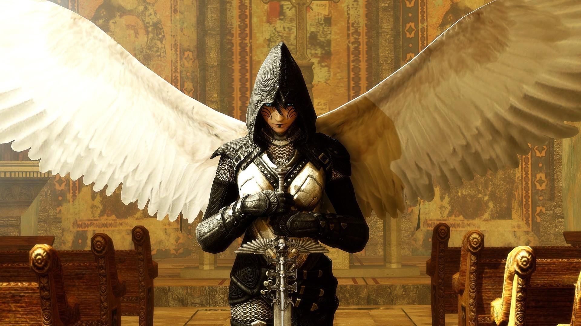 Angel warrior HD Wallpaper Angel …