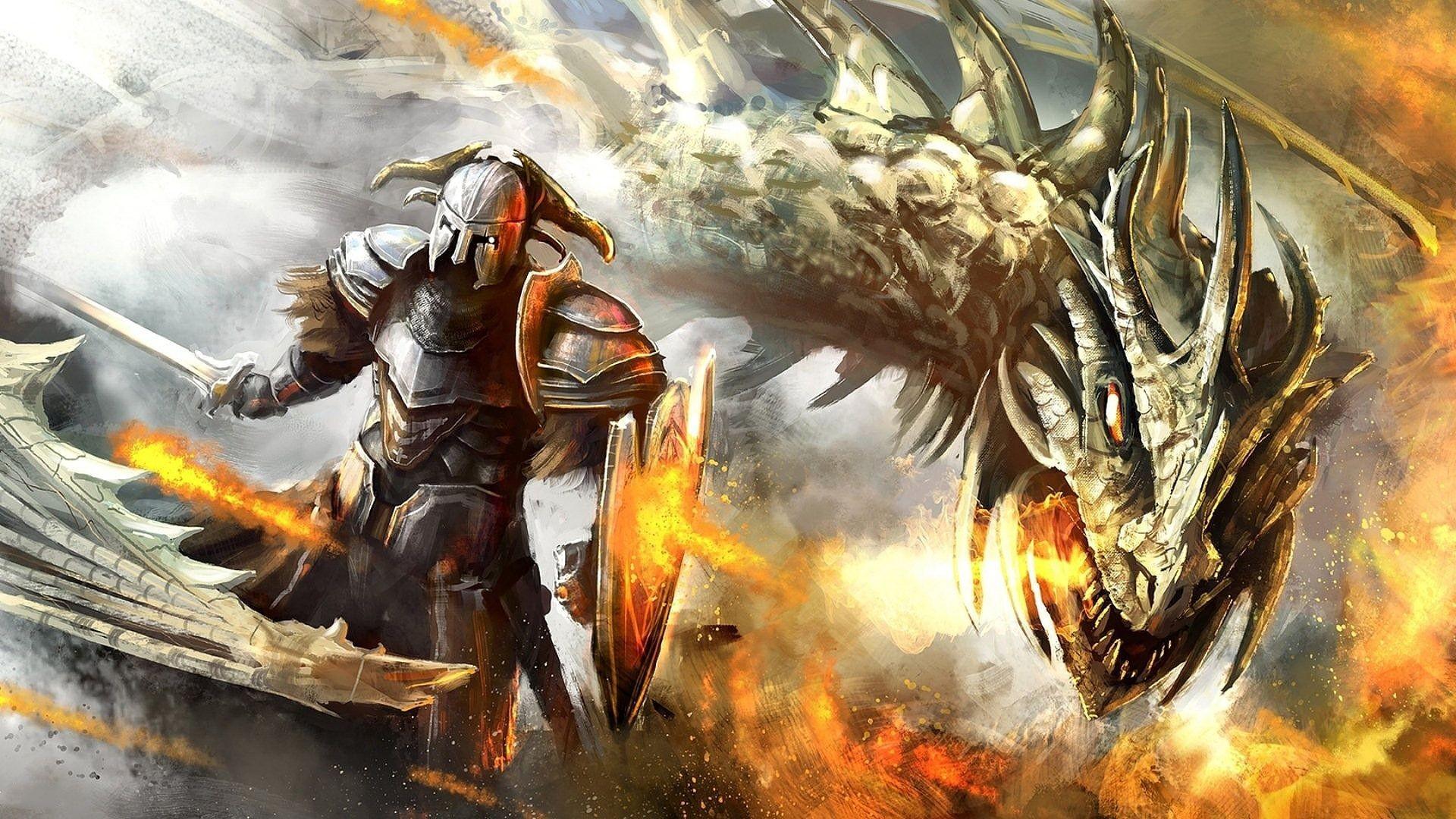 Dragon Warrior Knight Wallpaper HD Desktop 178 #12076 Wallpaper .