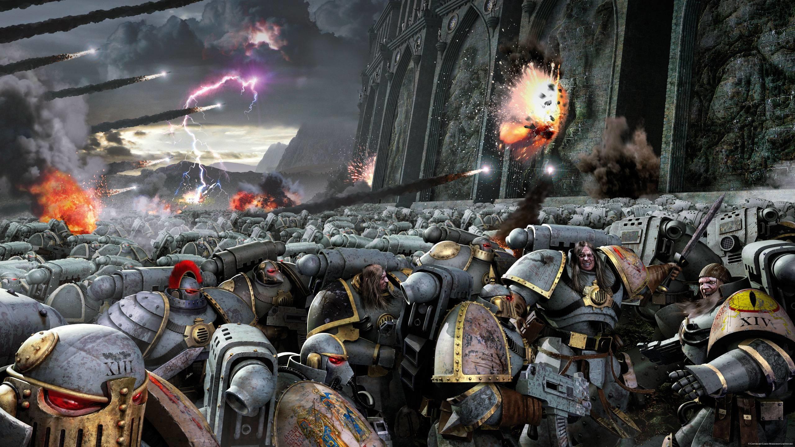 Warhammer-40K-Wallpaper-9.jpg (2560×1440) · Dark Angels …