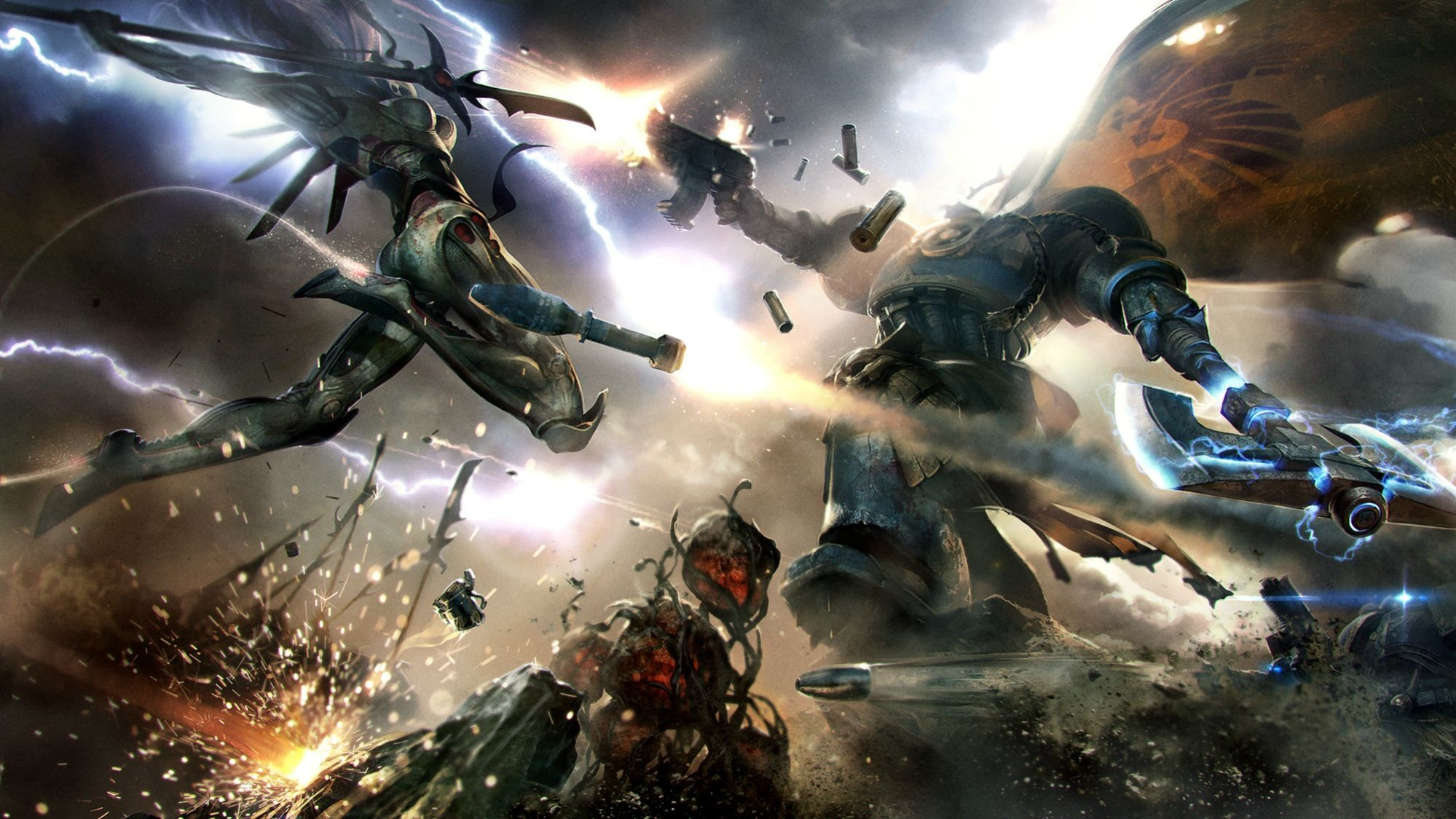 Warhammer 40k Wallpapers Now with Extra Heresy