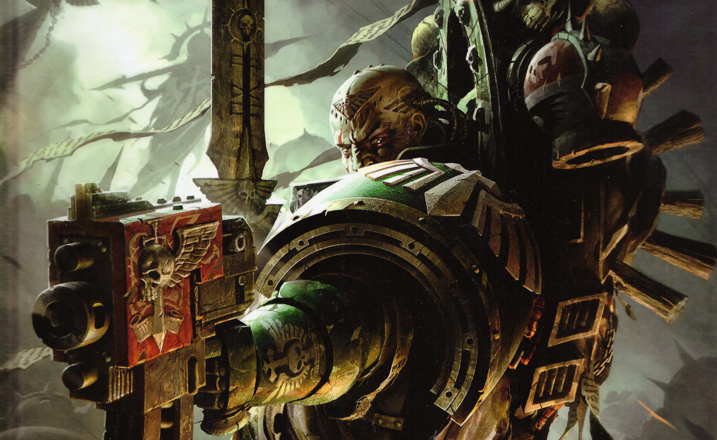Warhammer 40k Space Marine Legions: Day 9, Dark Angels