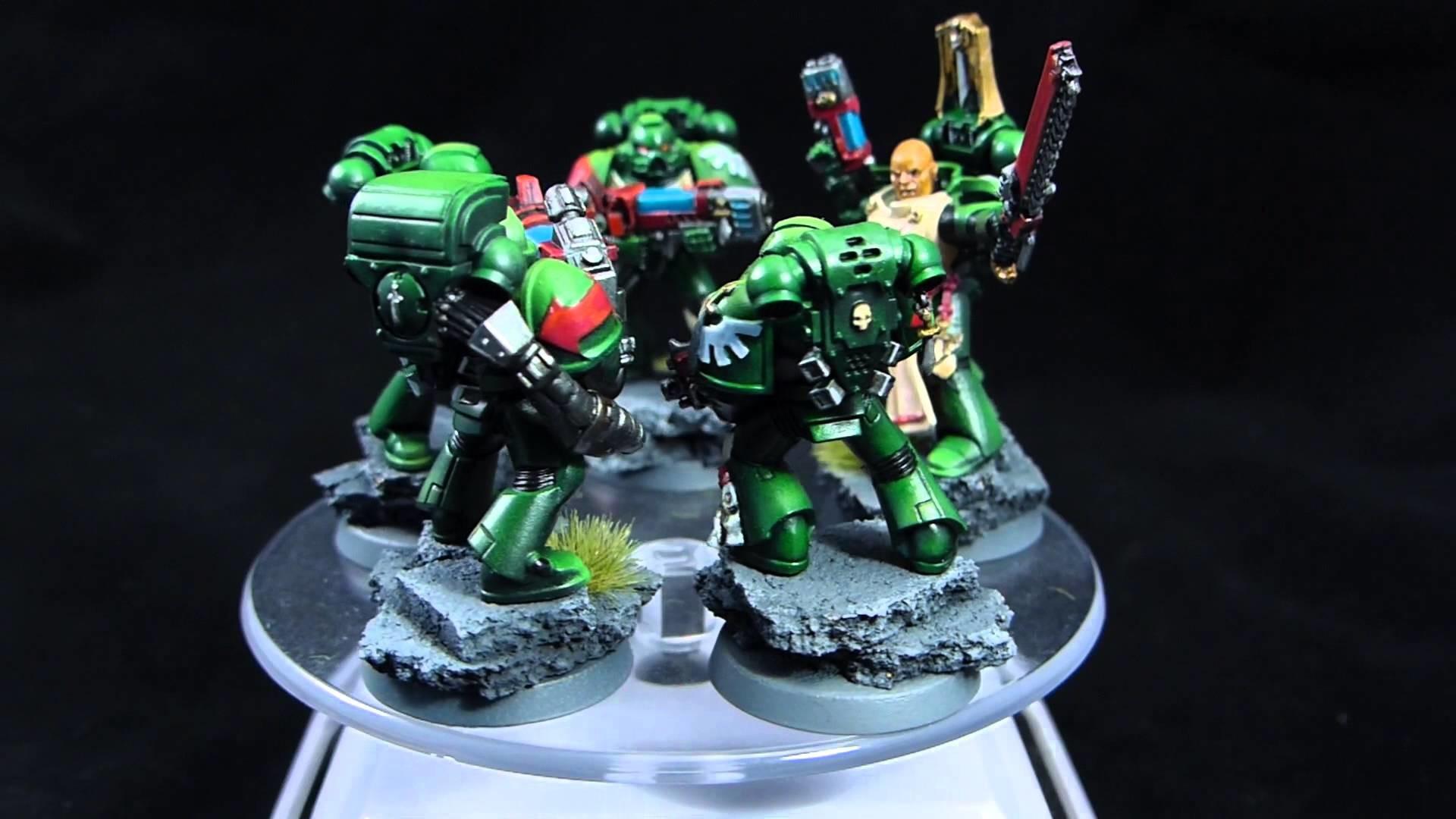 Warhammer 40k Dark Angels Tactical Squad