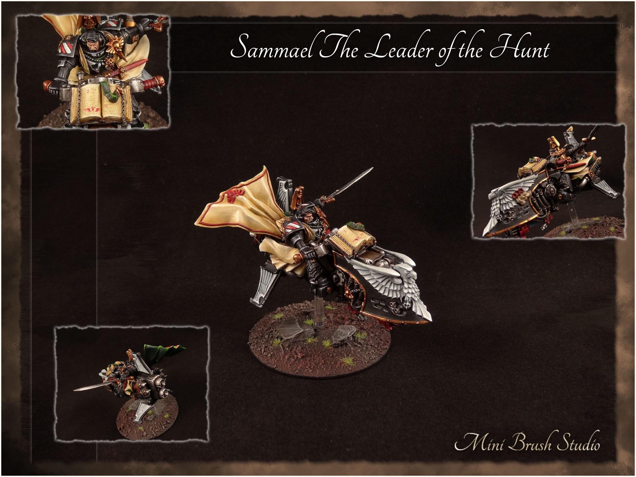 Warhammer 40k – Sammael The Grand Master of the Ravenwing ( Dark Angels )