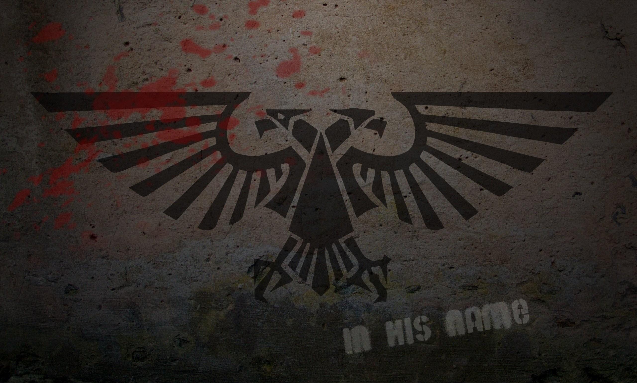 Warhammer 40K Logo Graffiti