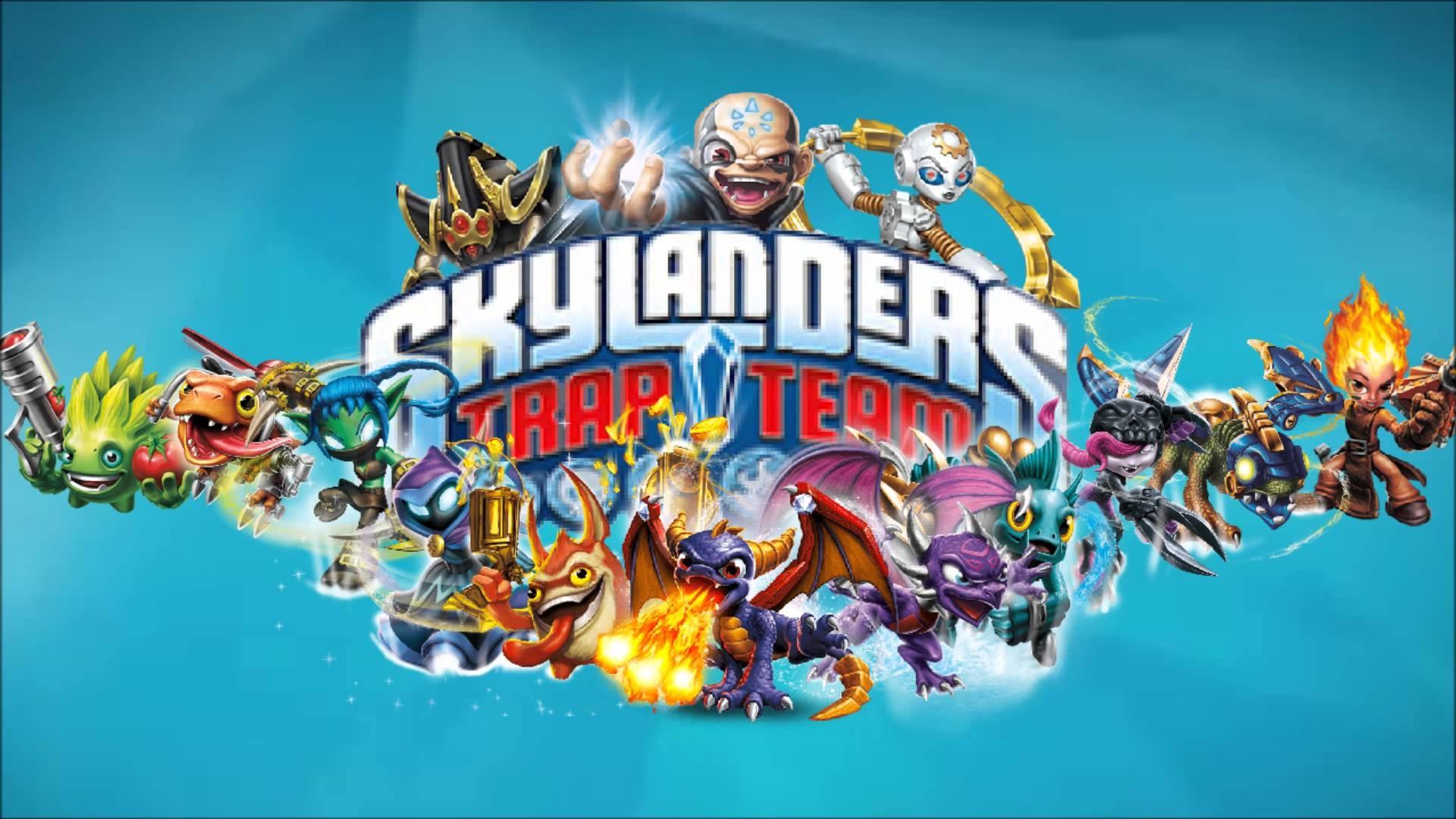 My Own Skylanders Trap Team Wallpaper – YouTube