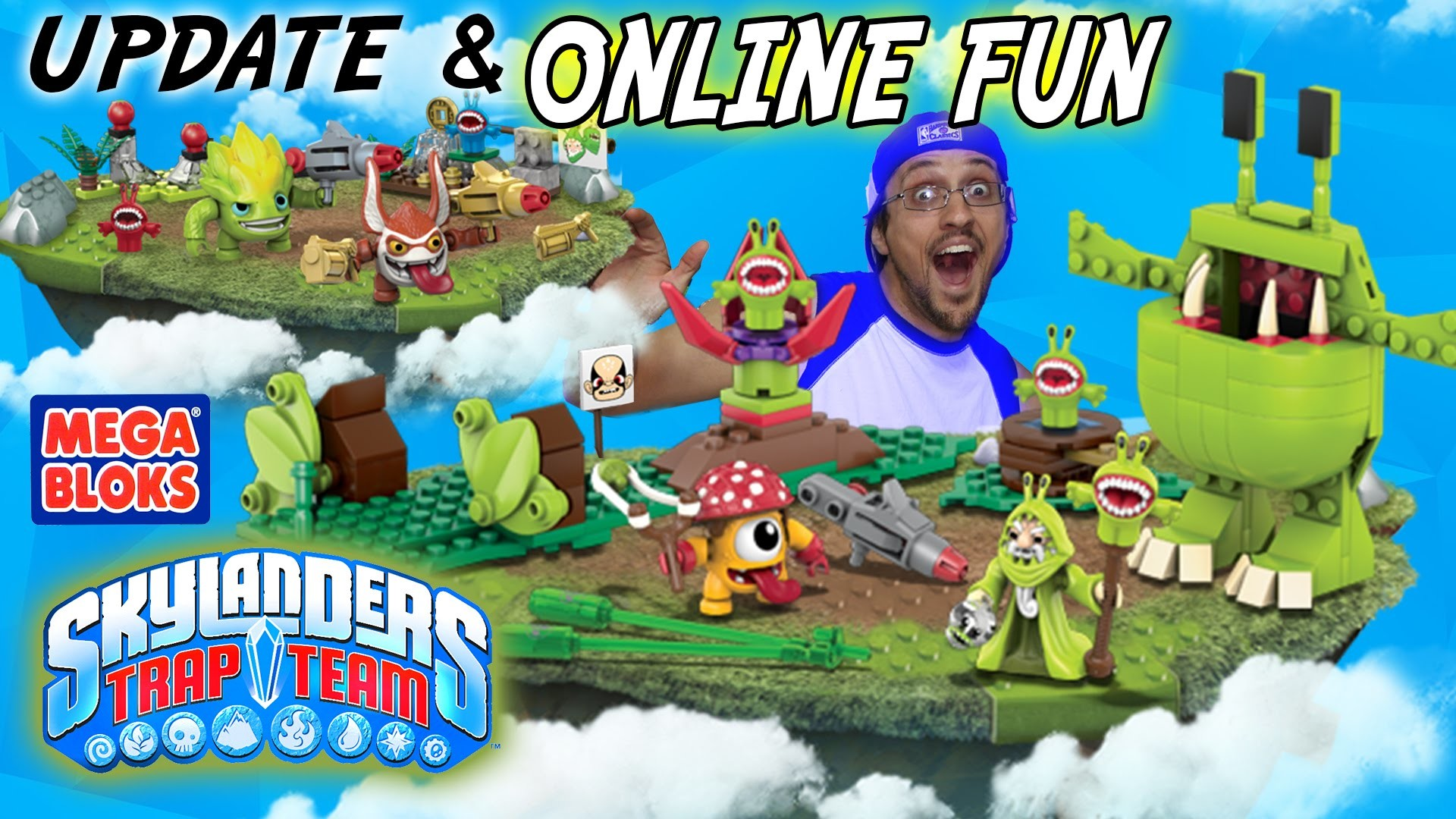 Skylanders Trap Team Mega Bloks Update + FREE Activities (Online Fun)  Games, Wallpapers & More – YouTube