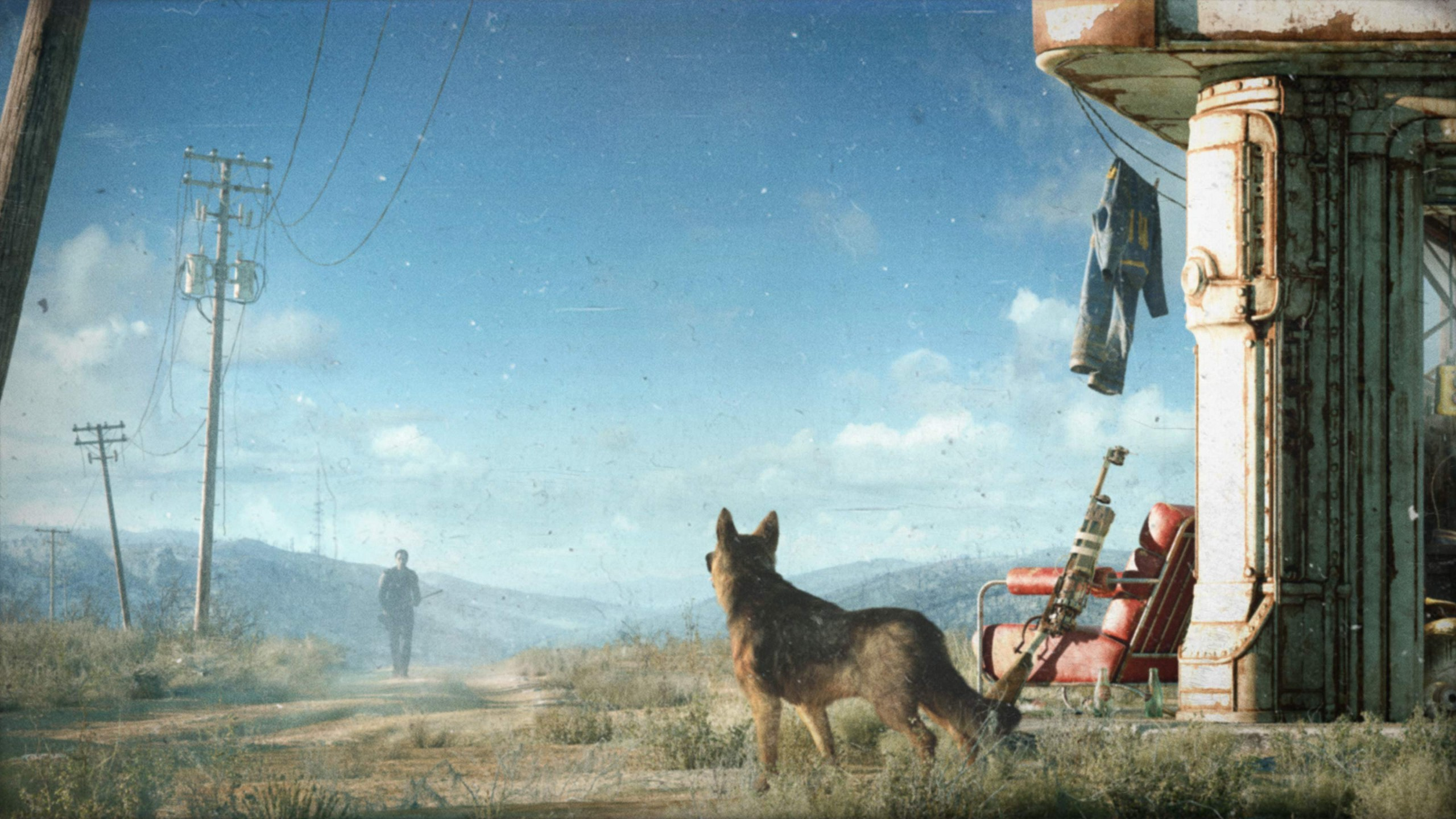 Home > Games HD Wallpapers > Fallout, Video Games, Fallout 4, Dogmeat