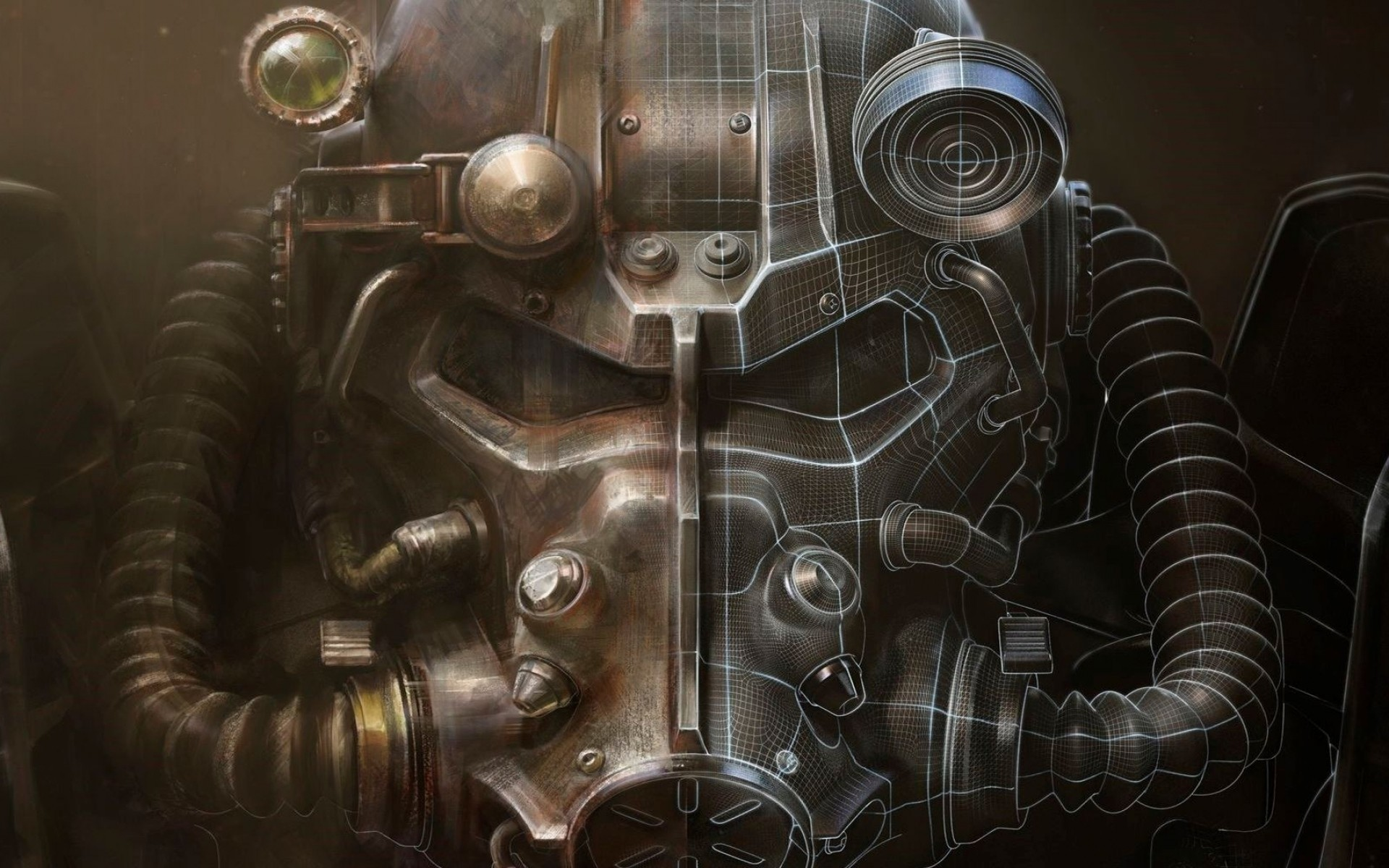 Preview wallpaper fallout 4, bethesda softworks, armor 1920×1200