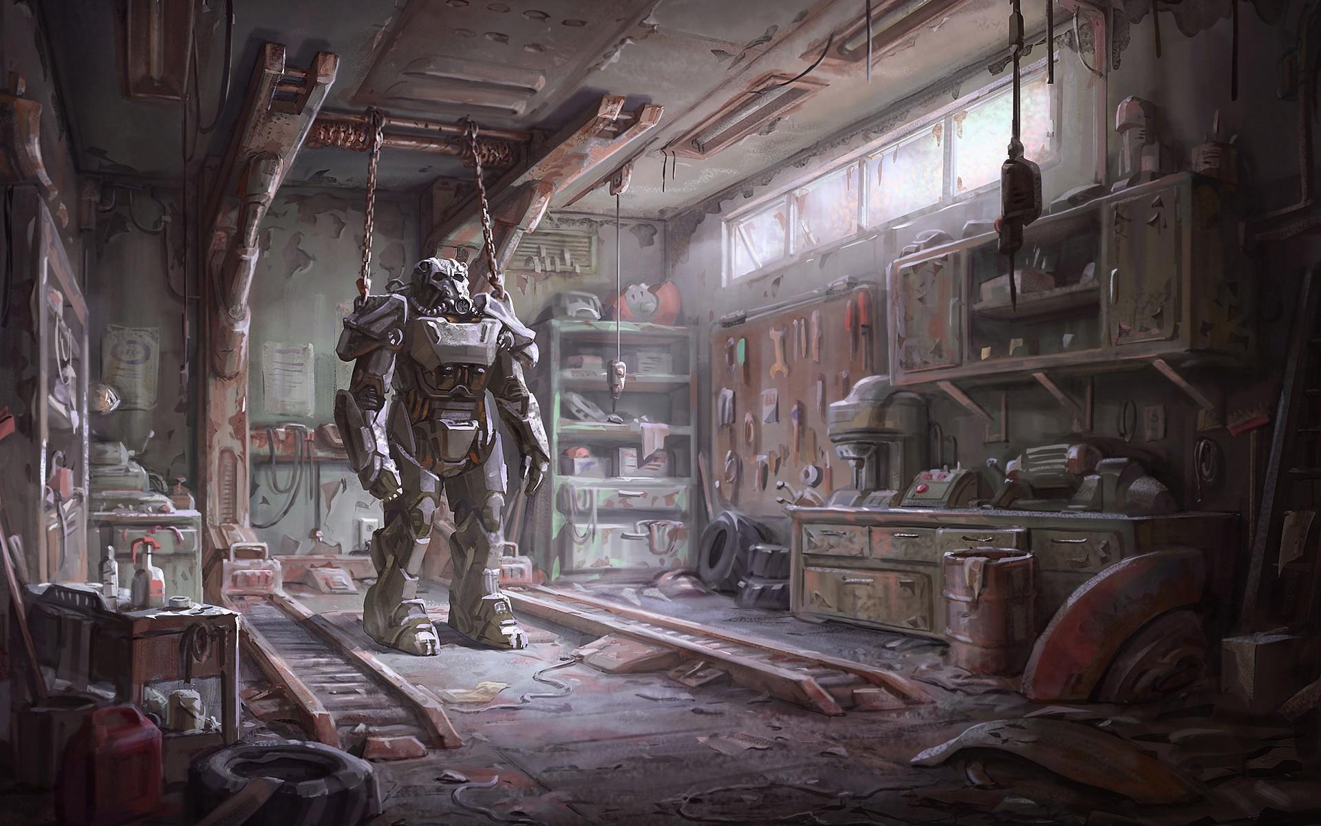 Fallout 4 Armour