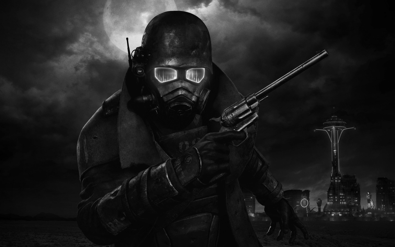 Fallout New Vegas Logo Black and White. Fallout 3 Wallpaper