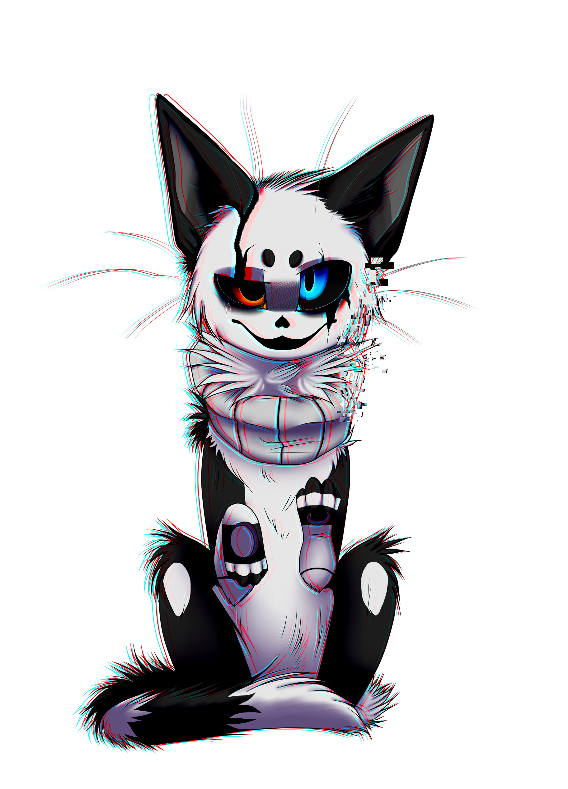 Gaster cat bug by yamiko-creepy W-D. Gaster cat bug by yamiko-creepy