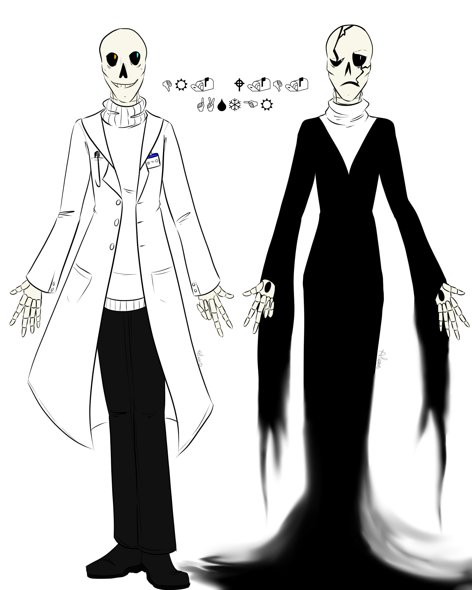… Dr. W.D. Gaster by LordBlumiere