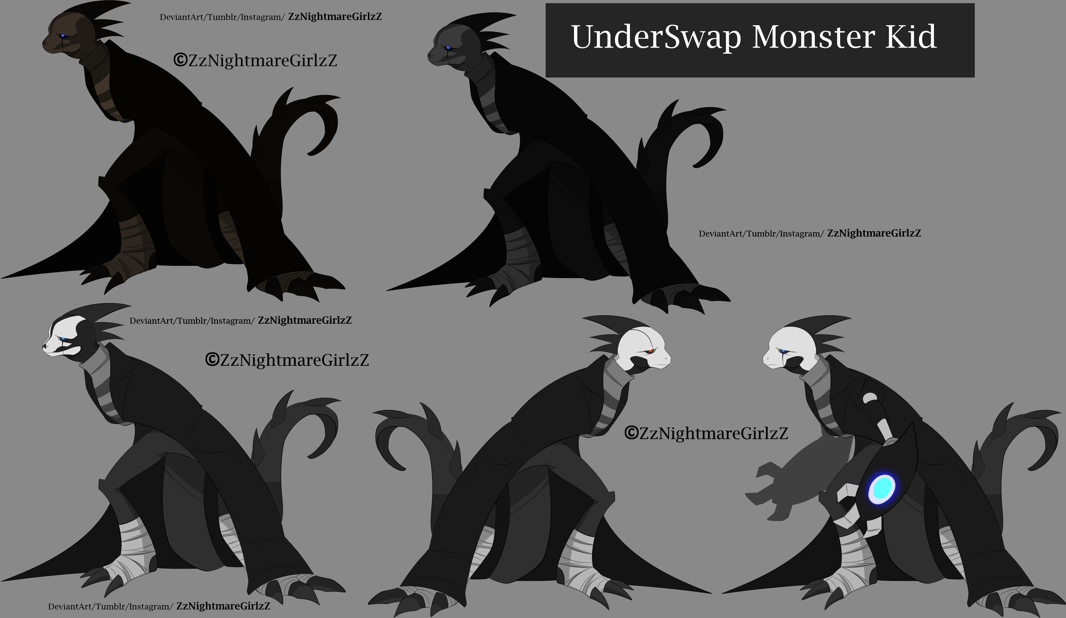 … Underswap-monster-kid by ZheyZhey