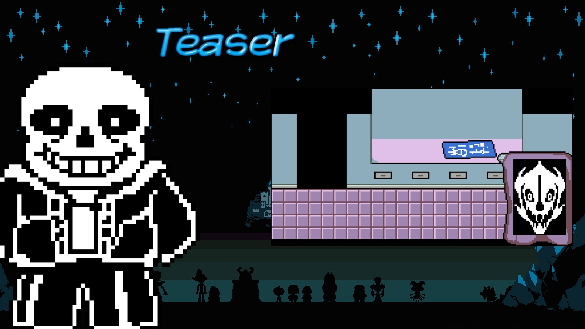 【Teaser】Sans' Workshop Secrets Gaster Blaster Prototype?! [Undertale Theory]