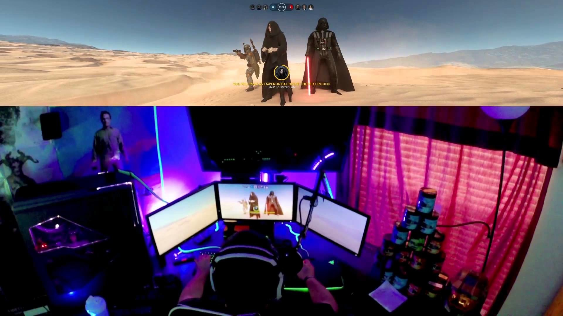 STAR WARS: BATTLEFRONT at 5760 x 1080! ULTRA GRAPHICS SETTINGS! – YouTube