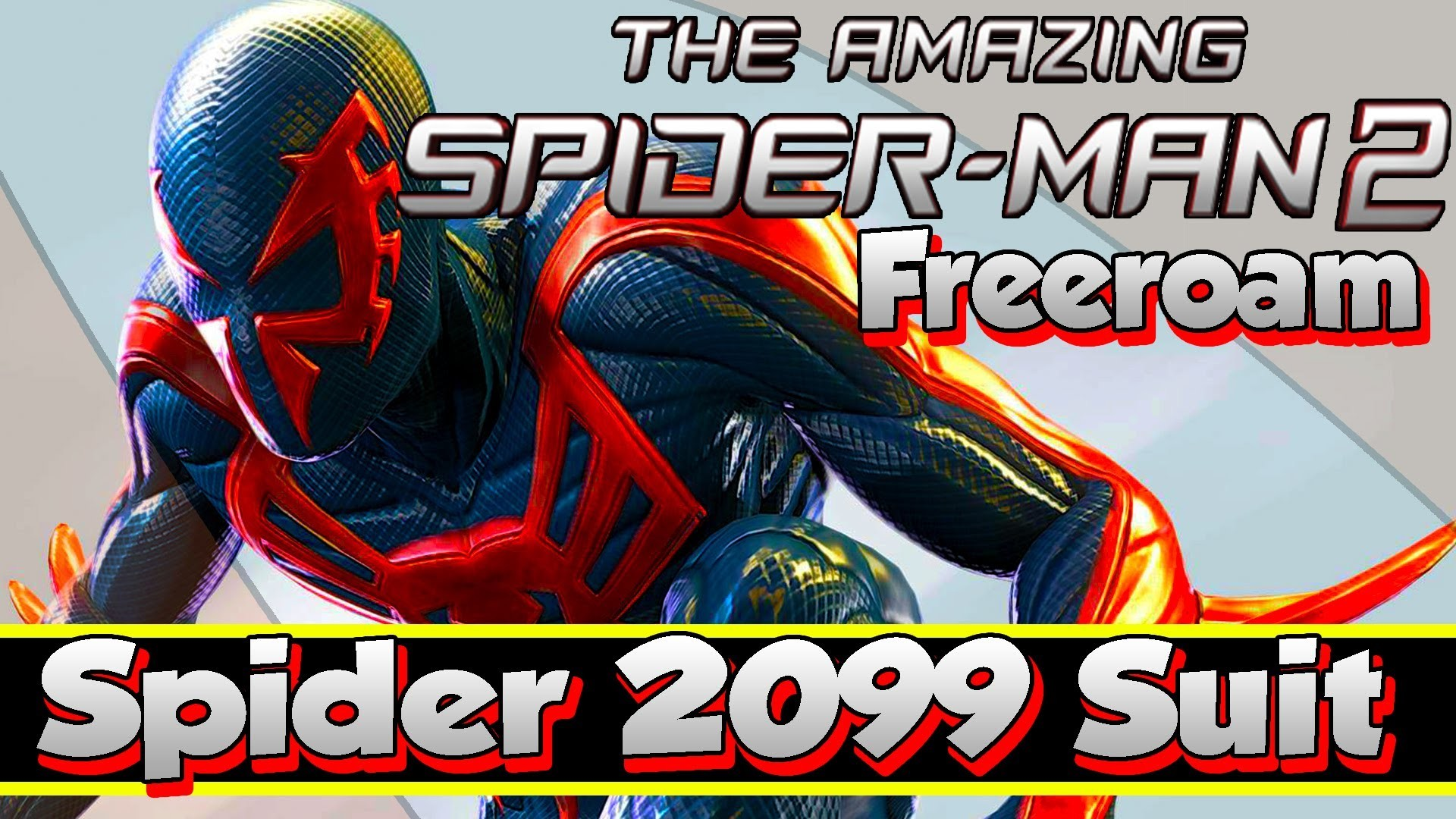 The Amazing Spider-Man 2 | Spider-Man 2099 Costume Skin Suit Unlockable w/  Side Missions & Freeroam – YouTube